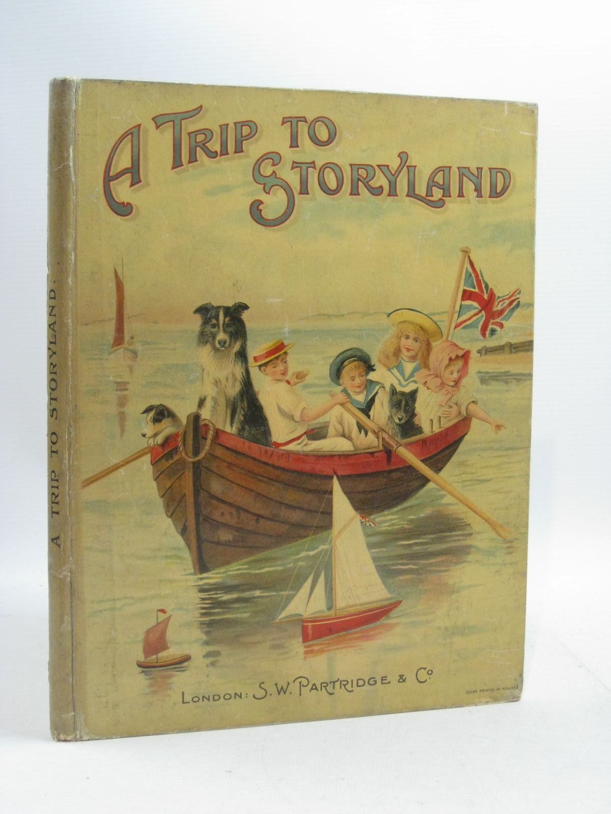 Photo of A TRIP TO STORYLAND written by R.V.,<br />Rossetti, Christina<br />et al, illustrated by Wain, Louis<br />Copping, Harold<br />Maybank, Thomas<br />et al., published by S.W. Partridge & Co. (STOCK CODE: 1404568)  for sale by Stella & Rose's Books