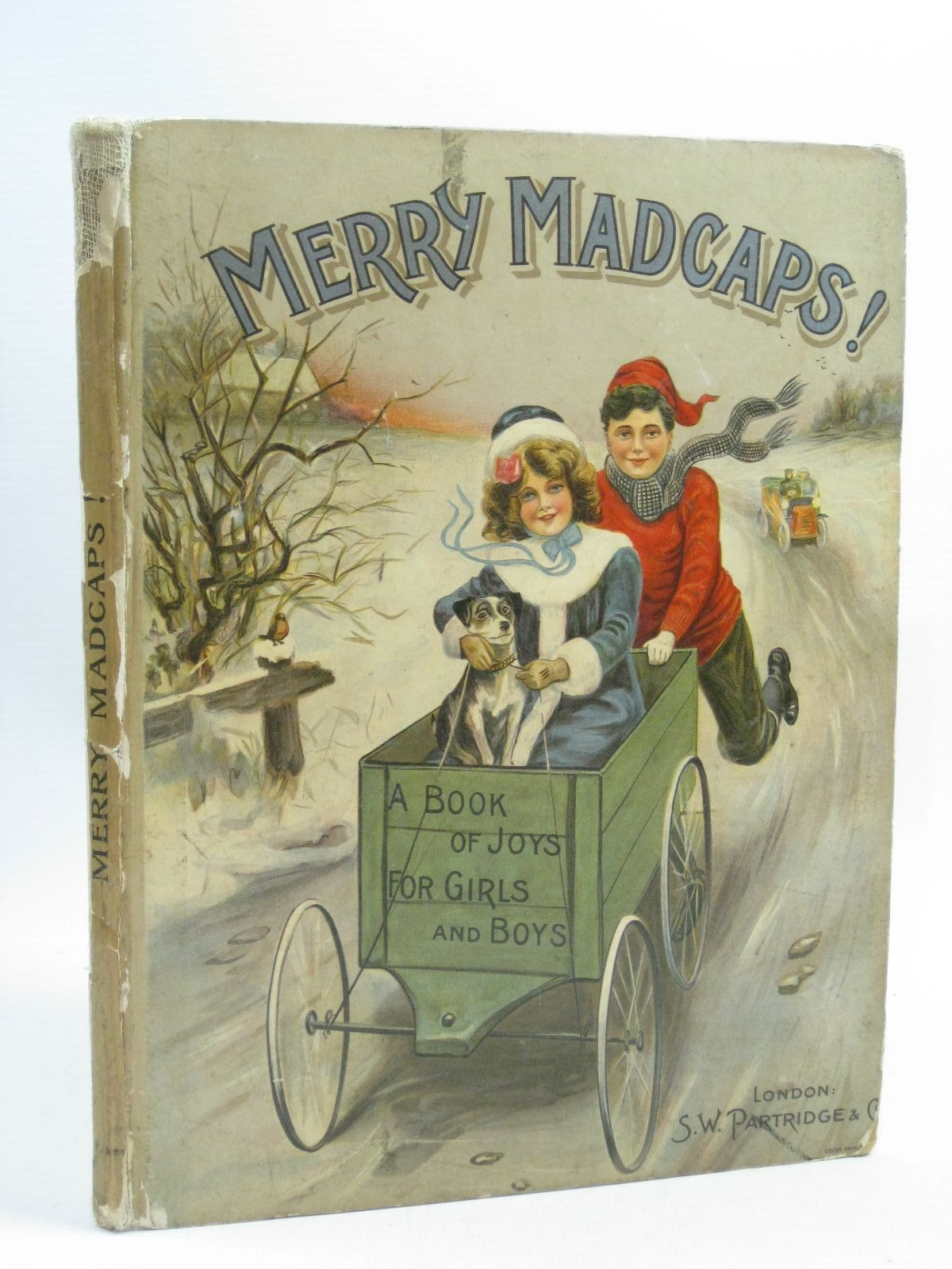 Photo of MERRY MADCAPS! written by Aunt Ruth, illustrated by Pearse, A.<br />Weir, Harrison<br />Wain, Louis<br />et al., published by S.W. Partridge & Co. (STOCK CODE: 1404576)  for sale by Stella & Rose's Books