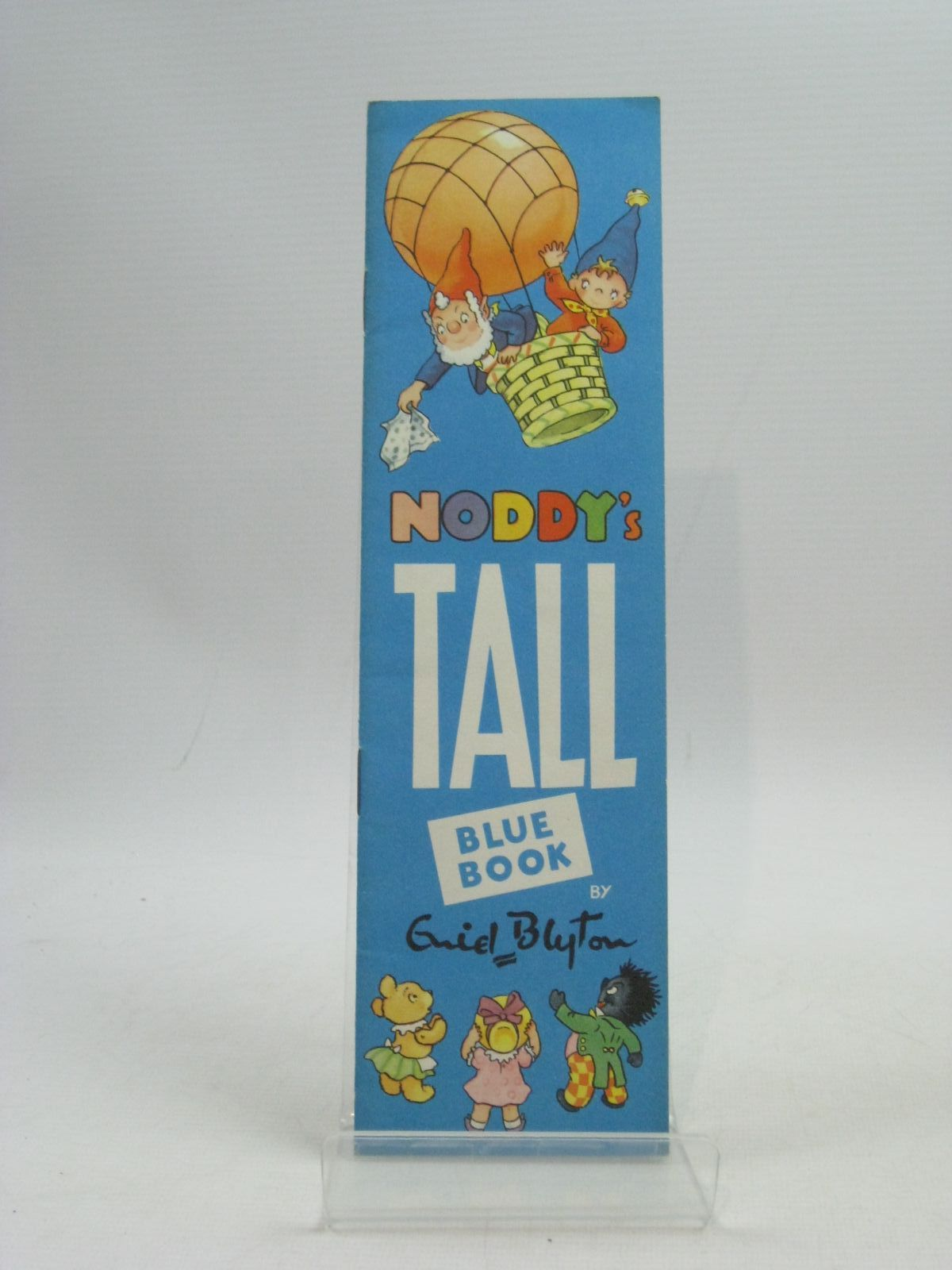 Photo of NODDY'S TALL BLUE BOOK written by Blyton, Enid illustrated by Tyndall, Robert published by Sampson Low, Marston & Co. Ltd. (STOCK CODE: 1404595)  for sale by Stella & Rose's Books