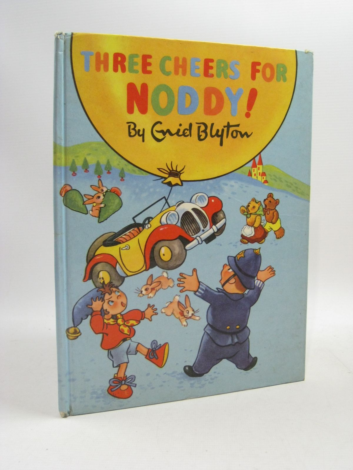 Photo of THREE CHEERS FOR NODDY! written by Blyton, Enid illustrated by Beek,  published by Sampson Low, Marston & Co. Ltd., Dennis Dobson Ltd. (STOCK CODE: 1404609)  for sale by Stella & Rose's Books