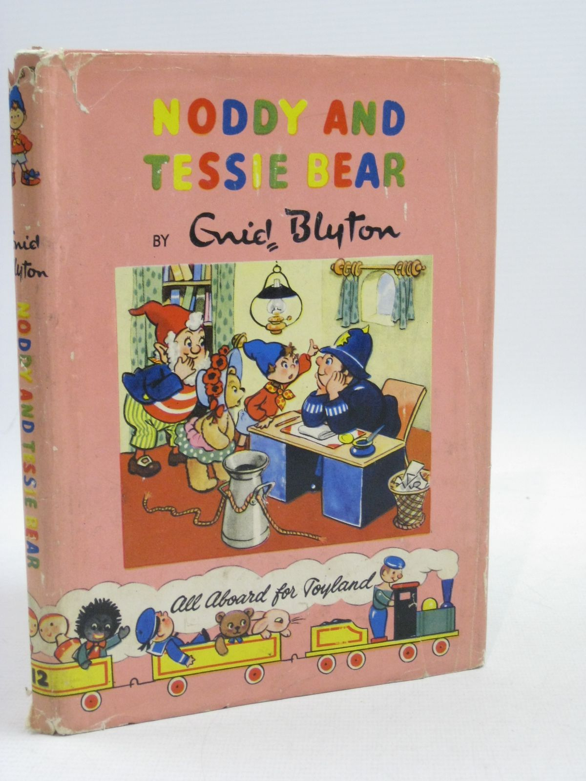 Photo of NODDY AND TESSIE BEAR written by Blyton, Enid illustrated by Lee, Robert published by Sampson Low, Marston & Co. Ltd., The Richards Press (STOCK CODE: 1404620)  for sale by Stella & Rose's Books