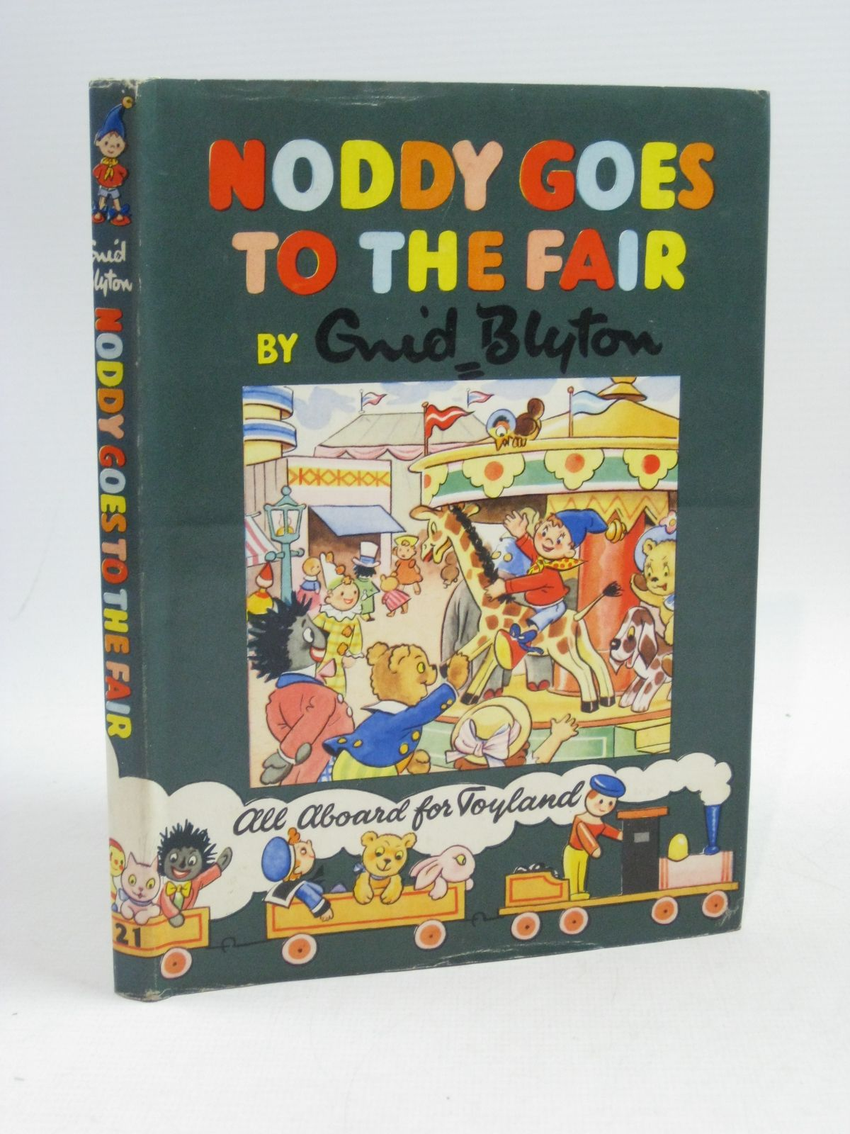 Photo of NODDY GOES TO THE FAIR written by Blyton, Enid illustrated by Tyndall, Robert published by Sampson Low, Marston & Co. Ltd., D.V. Publications Ltd. (STOCK CODE: 1404626)  for sale by Stella & Rose's Books