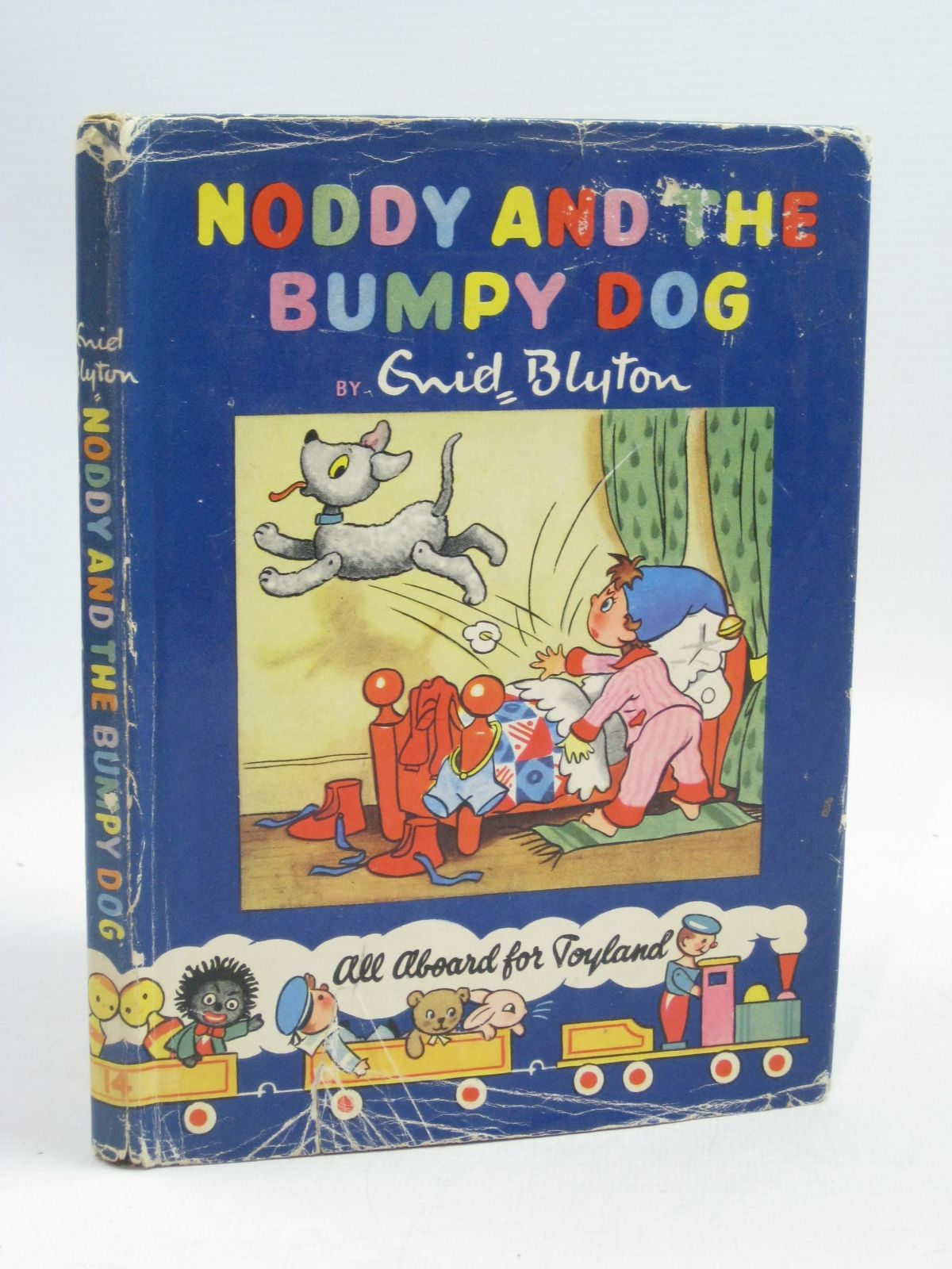 Photo of NODDY AND THE BUMPY DOG written by Blyton, Enid illustrated by Lee, Robert<br />Tyndall, Robert published by Sampson Low, Marston & Co. Ltd., Dennis Dobson Ltd. (STOCK CODE: 1404631)  for sale by Stella & Rose's Books