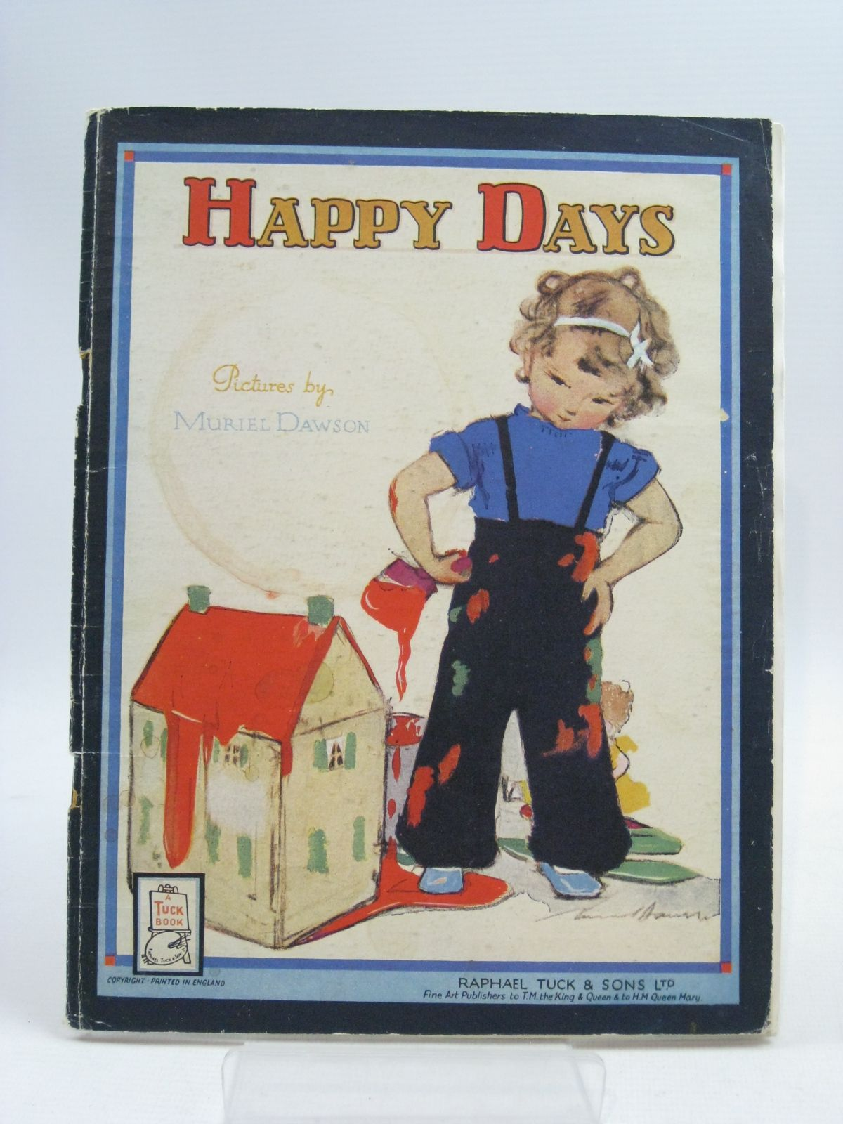 Photo of HAPPY DAYS illustrated by Dawson, Muriel published by Raphael Tuck & Sons Ltd. (STOCK CODE: 1404666)  for sale by Stella & Rose's Books