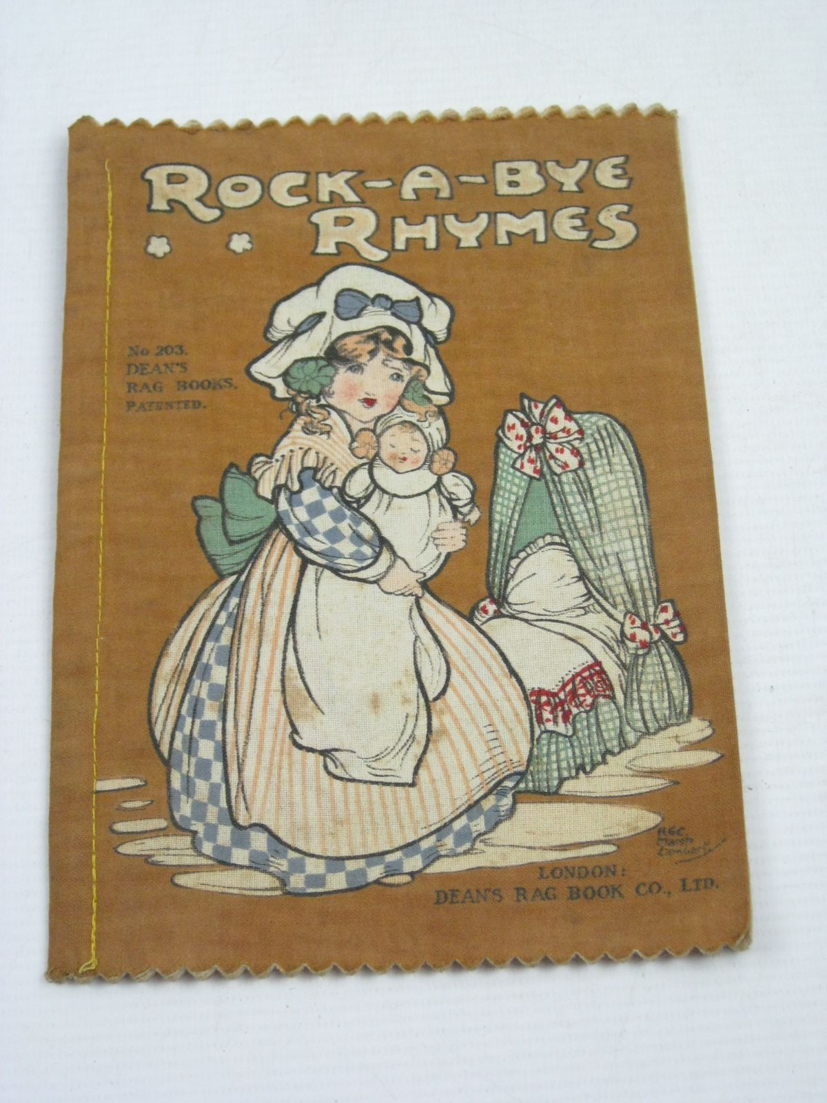 Photo of ROCK-A-BYE RHYMES illustrated by Lambert, H.G.C. Marsh published by Dean's Rag Book Co. Ltd. (STOCK CODE: 1404670)  for sale by Stella & Rose's Books