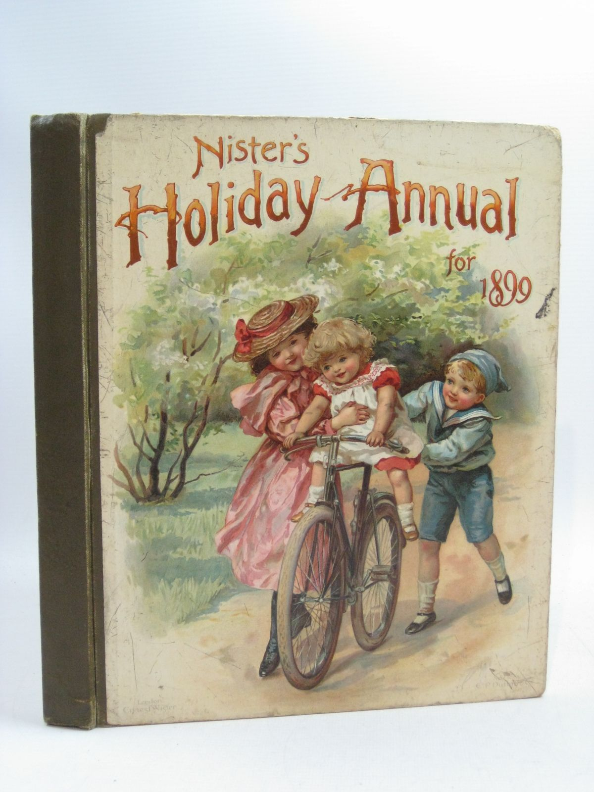 Photo of NISTER'S HOLIDAY ANNUAL FOR 1899 written by Fenn, George Manville<br />Fuller, Alfred J.<br />Weedon, L.L. illustrated by Nister, Ernest<br />Taylor, Edith<br />et al., published by Ernest Nister, E.P. Dutton & Co. (STOCK CODE: 1404712)  for sale by Stella & Rose's Books