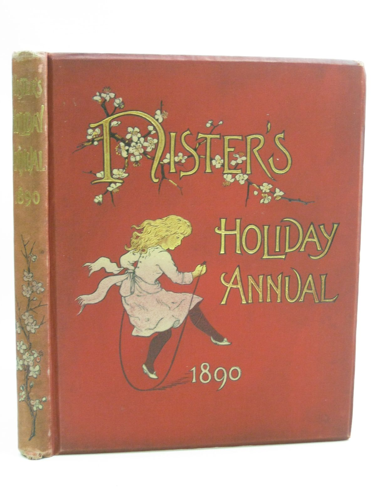 Photo of NISTER'S HOLIDAY ANNUAL 1890 written by Mack, Robert Ellice<br />Haskell, L.<br />et al, illustrated by Wain, Louis<br />Scannell, Edith<br />et al., published by Ernest Nister (STOCK CODE: 1404721)  for sale by Stella & Rose's Books