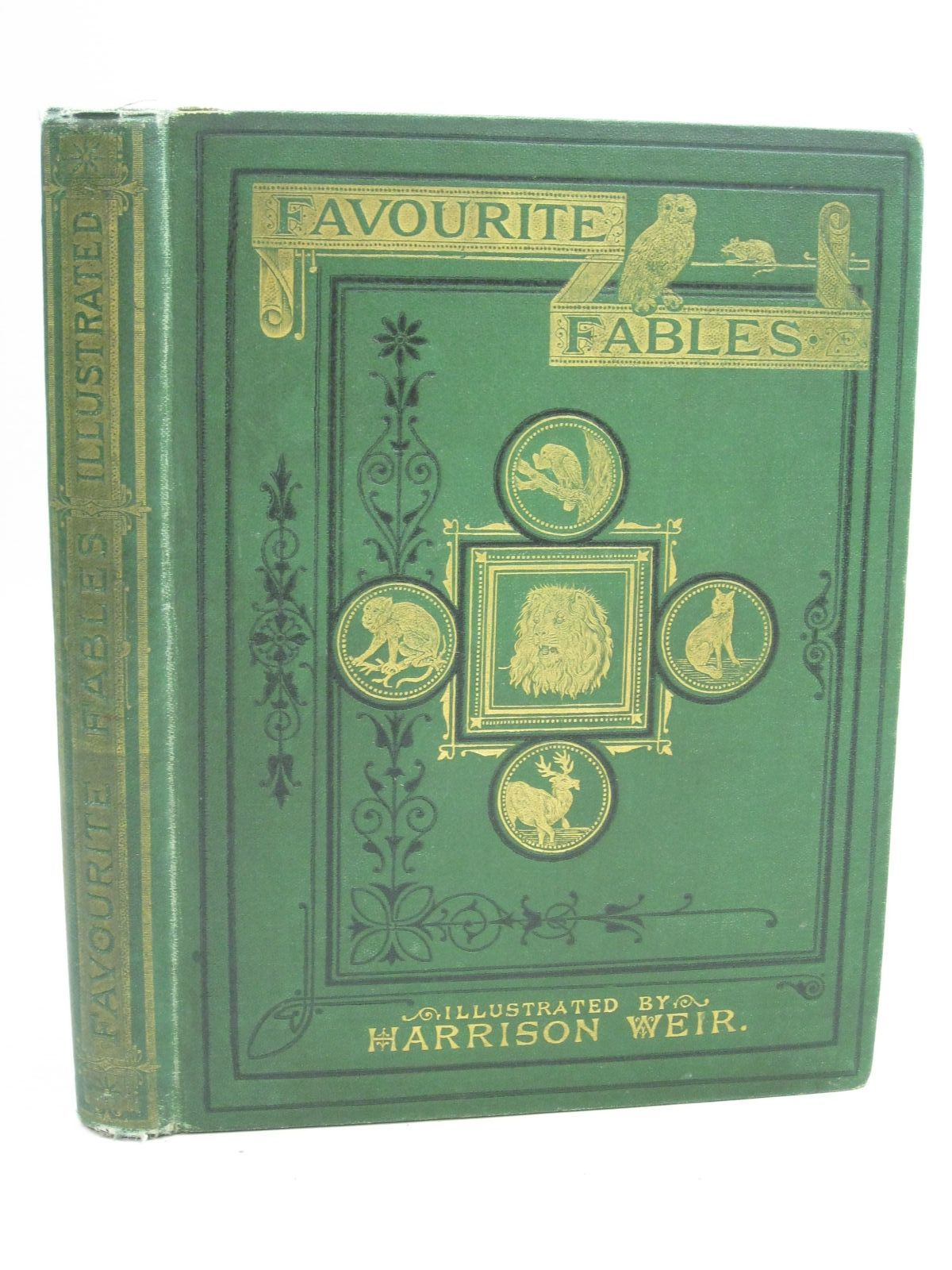 Photo of FAVOURITE FABLES illustrated by Weir, Harrison published by Griffith and Farran (STOCK CODE: 1404776)  for sale by Stella & Rose's Books
