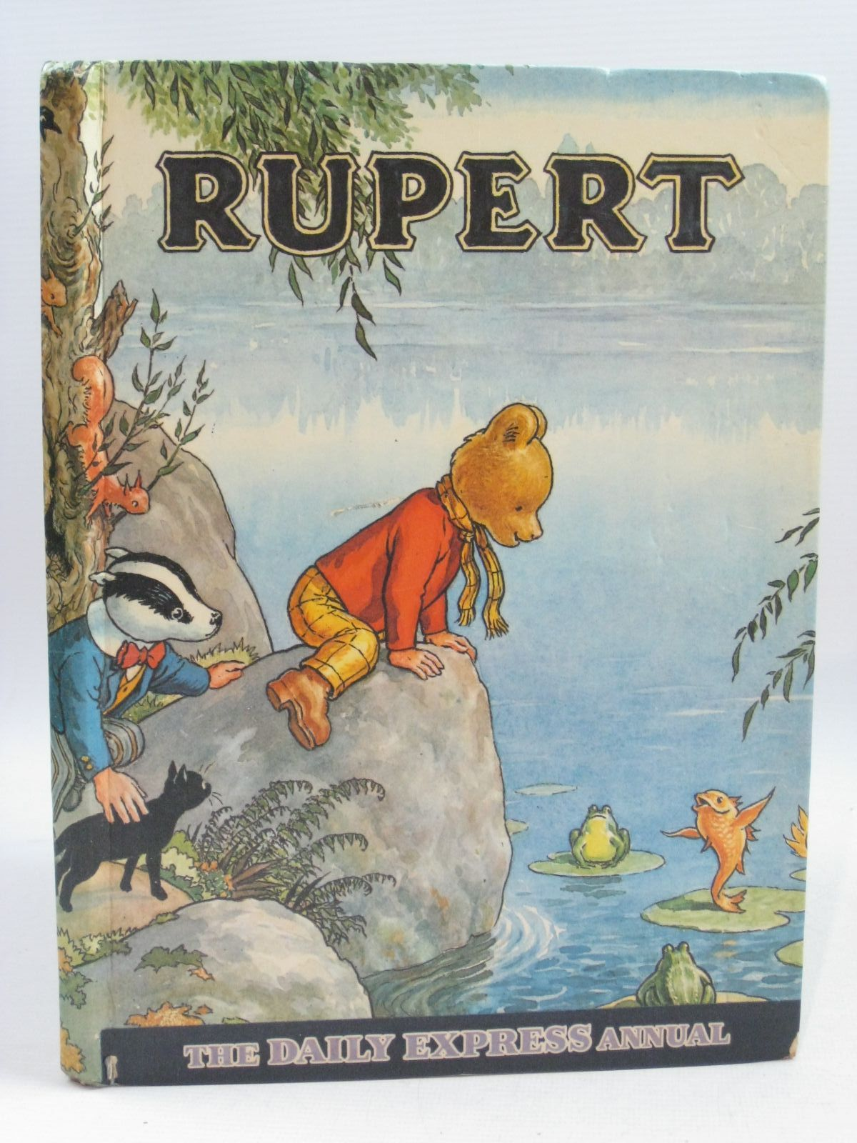 Photo of RUPERT ANNUAL 1969 written by Bestall, Alfred illustrated by Bestall, Alfred published by Daily Express (STOCK CODE: 1404783)  for sale by Stella & Rose's Books