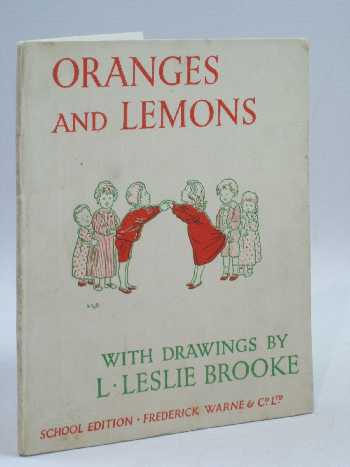 Photo of ORANGES AND LEMONS illustrated by Brooke, L. Leslie published by Frederick Warne & Co Ltd. (STOCK CODE: 1404805)  for sale by Stella & Rose's Books