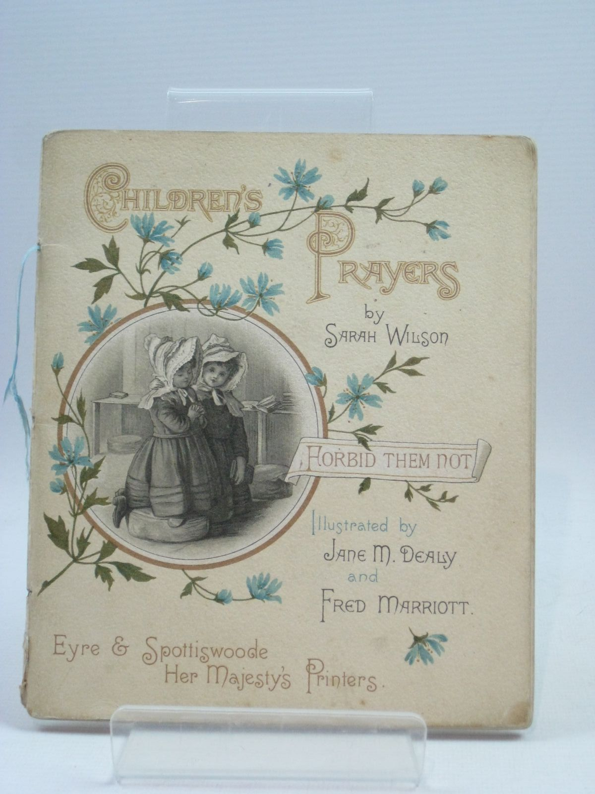 Photo of CHILDREN'S PRAYERS written by Wilson, Sarah illustrated by Dealy, Jane M.<br />Marriott, Fred published by Eyre & Spottiswoode (STOCK CODE: 1404808)  for sale by Stella & Rose's Books