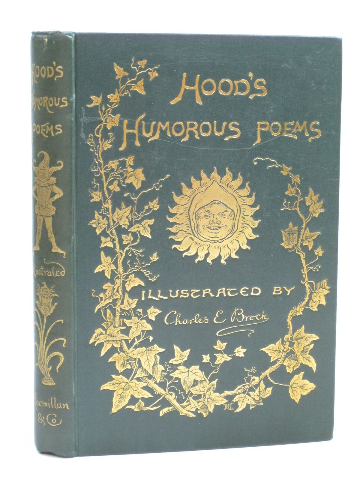 Photo of HUMOROUS POEMS written by Hood, Thomas illustrated by Brock, C.E. published by Macmillan & Co. (STOCK CODE: 1404822)  for sale by Stella & Rose's Books