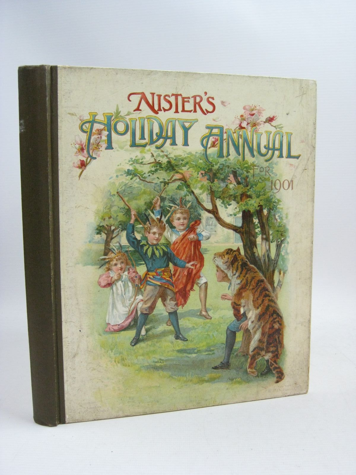 Photo of NISTER'S HOLIDAY ANNUAL FOR 1901 written by Fuller, Alfred J.<br />Fenn, George Manville<br />Meade, L.T.<br />et al,  illustrated by Wain, Louis<br />et al.,  published by Ernest Nister (STOCK CODE: 1404831)  for sale by Stella & Rose's Books