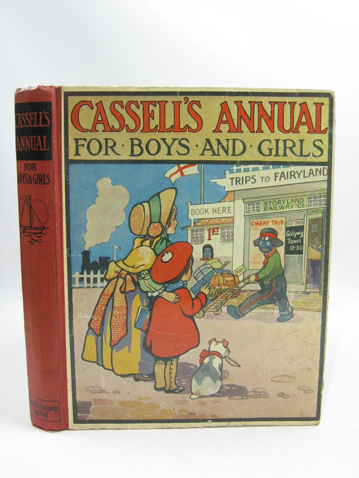Photo of CASSELL'S ANNUAL FOR BOYS AND GIRLS written by Herbertson, Agnes Grozier<br />Baker, Olaf<br />Davison, Irene<br />et al, illustrated by Petherick, Rosa C.<br />Macgregor, Angusine<br />Christie, G.F.<br />et al., (STOCK CODE: 1404838)  for sale by Stella & Rose's Books