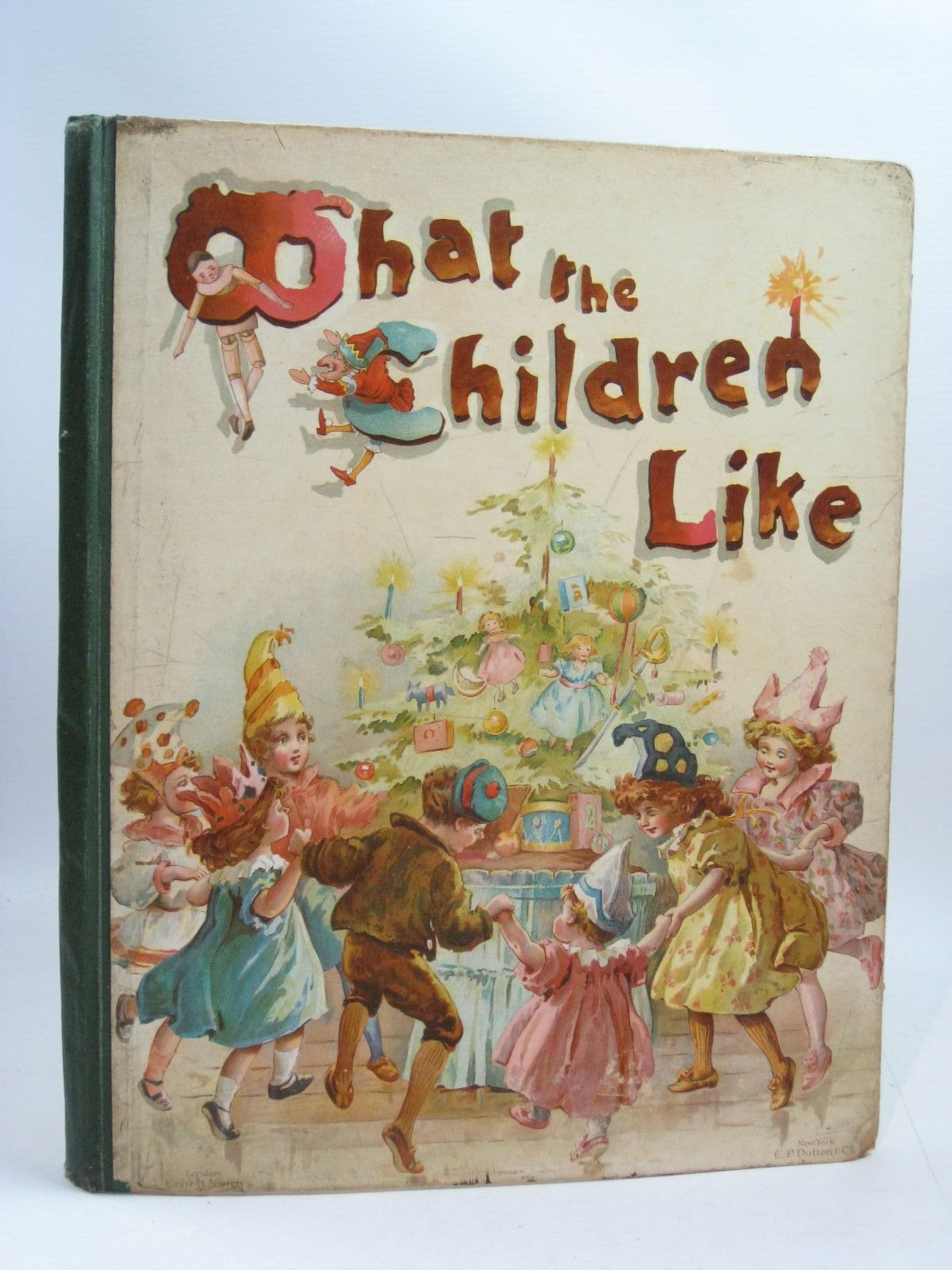 Photo of WHAT THE CHILDREN LIKE written by Weatherly, F.E.<br />Nister, Ernest<br />et al, illustrated by Nister, Ernest published by Ernest Nister (STOCK CODE: 1404845)  for sale by Stella & Rose's Books