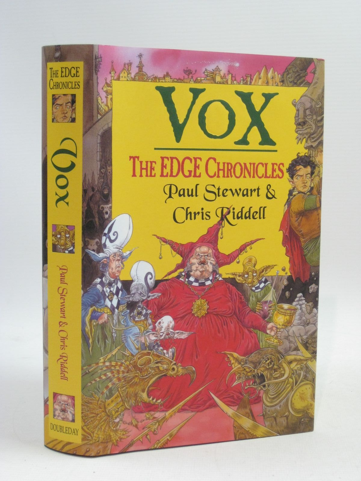 Photo of VOX written by Stewart, Paul illustrated by Riddell, Chris published by Doubleday (STOCK CODE: 1404856)  for sale by Stella & Rose's Books
