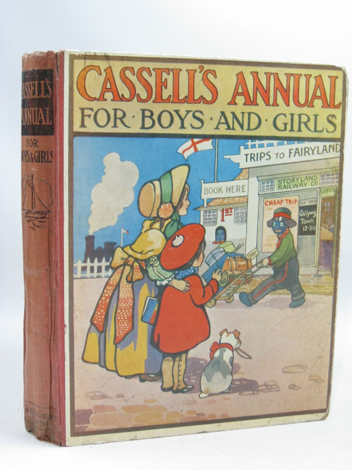 Photo of CASSELL'S ANNUAL FOR BOYS AND GIRLS written by Herbertson, Agnes Grozier<br />Baker, Olaf<br />Davison, Irene<br />et al, illustrated by Petherick, Rosa C.<br />Macgregor, Angusine<br />Christie, G.F.<br />et al., (STOCK CODE: 1404866)  for sale by Stella & Rose's Books