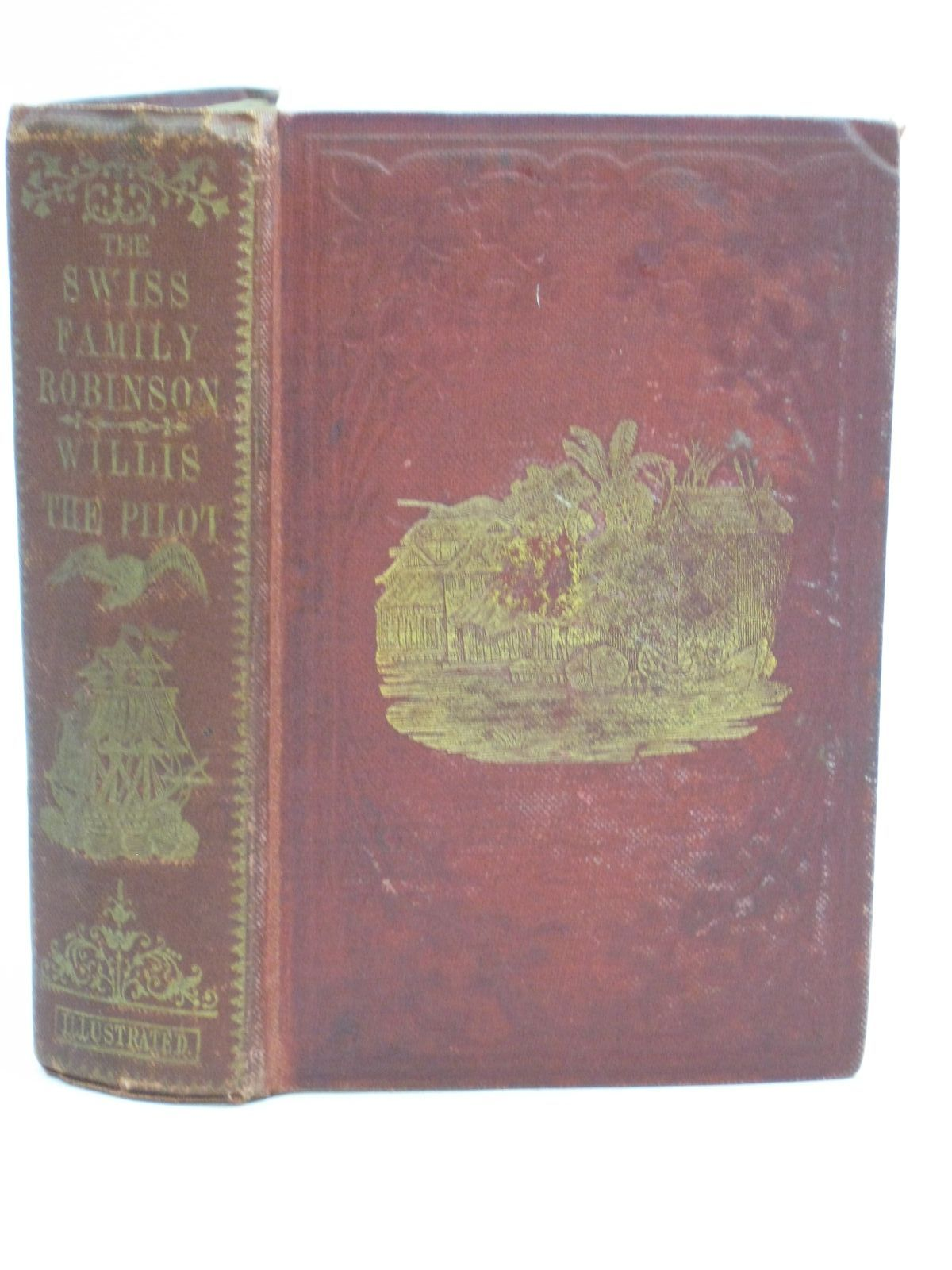 Photo of THE SWISS FAMILY ROBINSON & WILLIS THE PILOT written by Wyss, Johann published by Darton And Hodge (STOCK CODE: 1404878)  for sale by Stella & Rose's Books