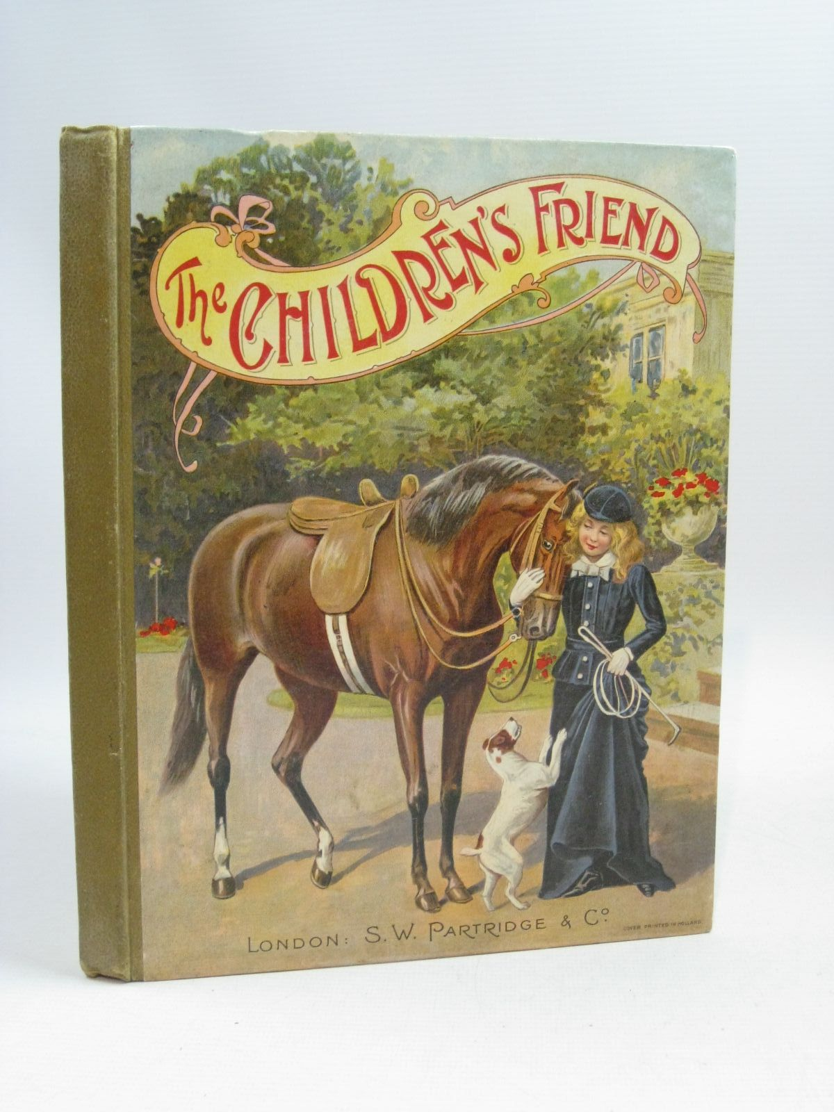 Photo of THE CHILDREN'S FRIEND ANNUAL FOR 1903 written by Hammerton, J.A.<br />Rowsell, Mary C.<br />Oxley, J. Macdonald illustrated by Wain, Louis<br />Weir, Harrison<br />Copping, Harold published by S.W. Partridge & Co. (STOCK CODE: 1404885)  for sale by Stella & Rose's Books
