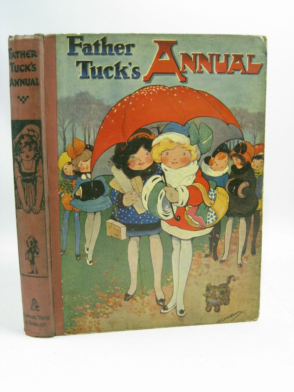 Photo of FATHER TUCK'S ANNUAL written by Vredenburg, Edric<br />et al,  illustrated by Cowham, Hilda<br />Thompson, G.H.<br />Wain, Louis<br />et al.,  published by Raphael Tuck & Sons Ltd. (STOCK CODE: 1404897)  for sale by Stella & Rose's Books