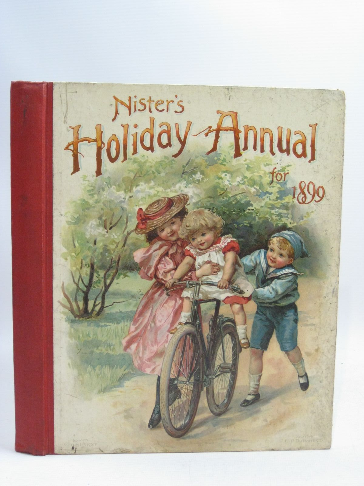 Photo of NISTER'S HOLIDAY ANNUAL FOR 1899 written by Fenn, George Manville<br />Fuller, Alfred J.<br />Weedon, L.L. illustrated by Nister, Ernest<br />Taylor, Edith<br />et al., published by Ernest Nister, E.P. Dutton & Co. (STOCK CODE: 1404914)  for sale by Stella & Rose's Books