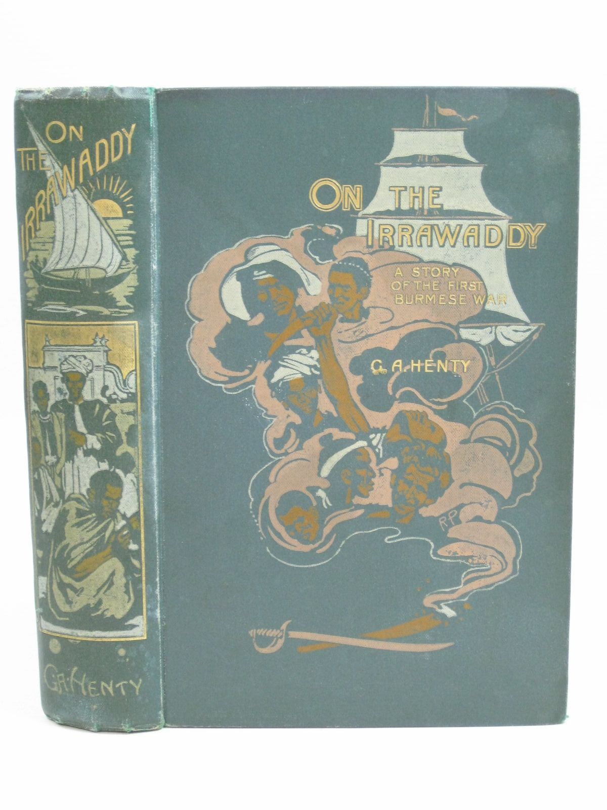 Photo of ON THE IRRAWADDY written by Henty, G.A. illustrated by Overend, W.H. published by Blackie & Son Ltd. (STOCK CODE: 1405066)  for sale by Stella & Rose's Books