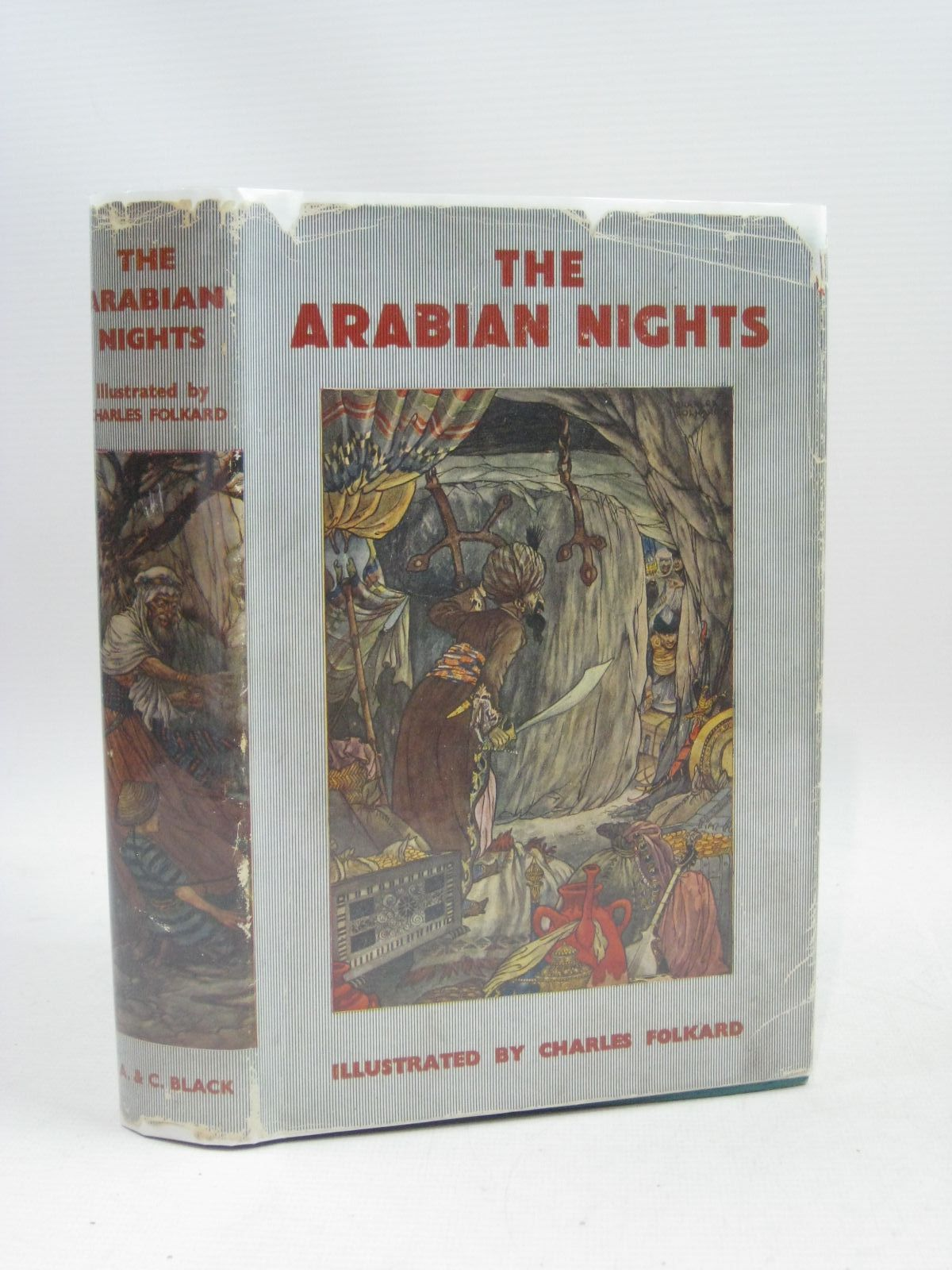 Photo of THE ARABIAN NIGHTS illustrated by Folkard, Charles published by A. & C. Black Ltd. (STOCK CODE: 1405149)  for sale by Stella & Rose's Books