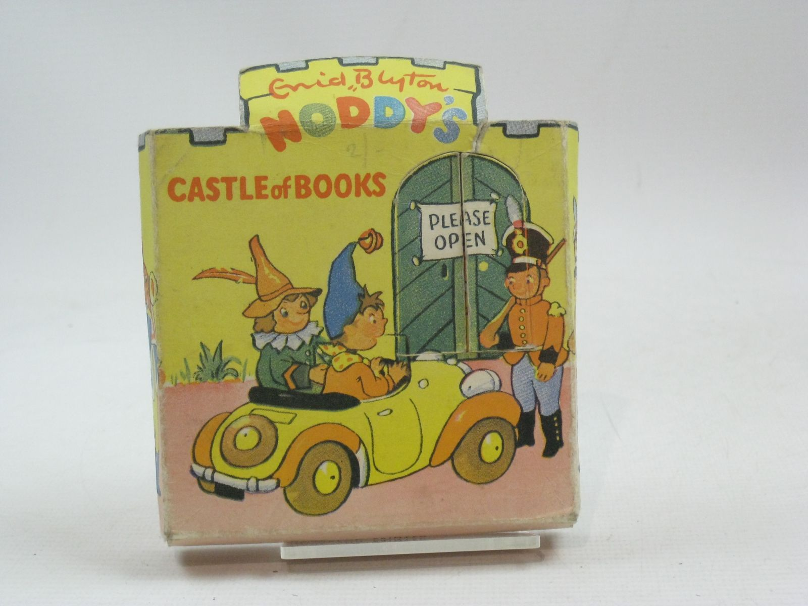 Photo of NODDY'S CASTLE OF BOOKS written by Blyton, Enid illustrated by Beek,  published by Sampson Low, Marston & Co. Ltd., C.A. Publications Ltd. (STOCK CODE: 1405265)  for sale by Stella & Rose's Books