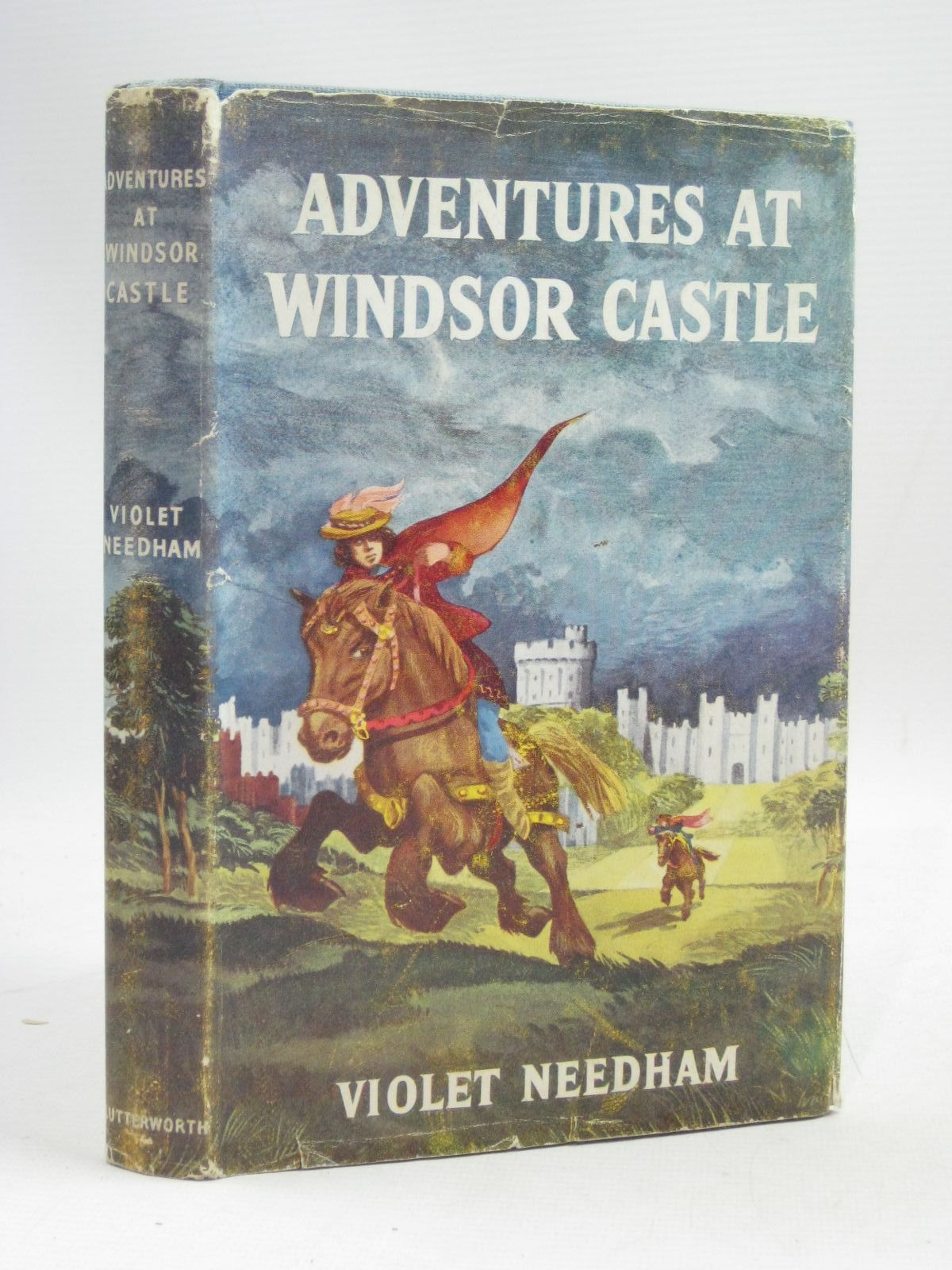 Photo of ADVENTURES AT WINDSOR CASTLE written by Needham, Violet illustrated by Walsh, David published by Lutterworth Press (STOCK CODE: 1405407)  for sale by Stella & Rose's Books