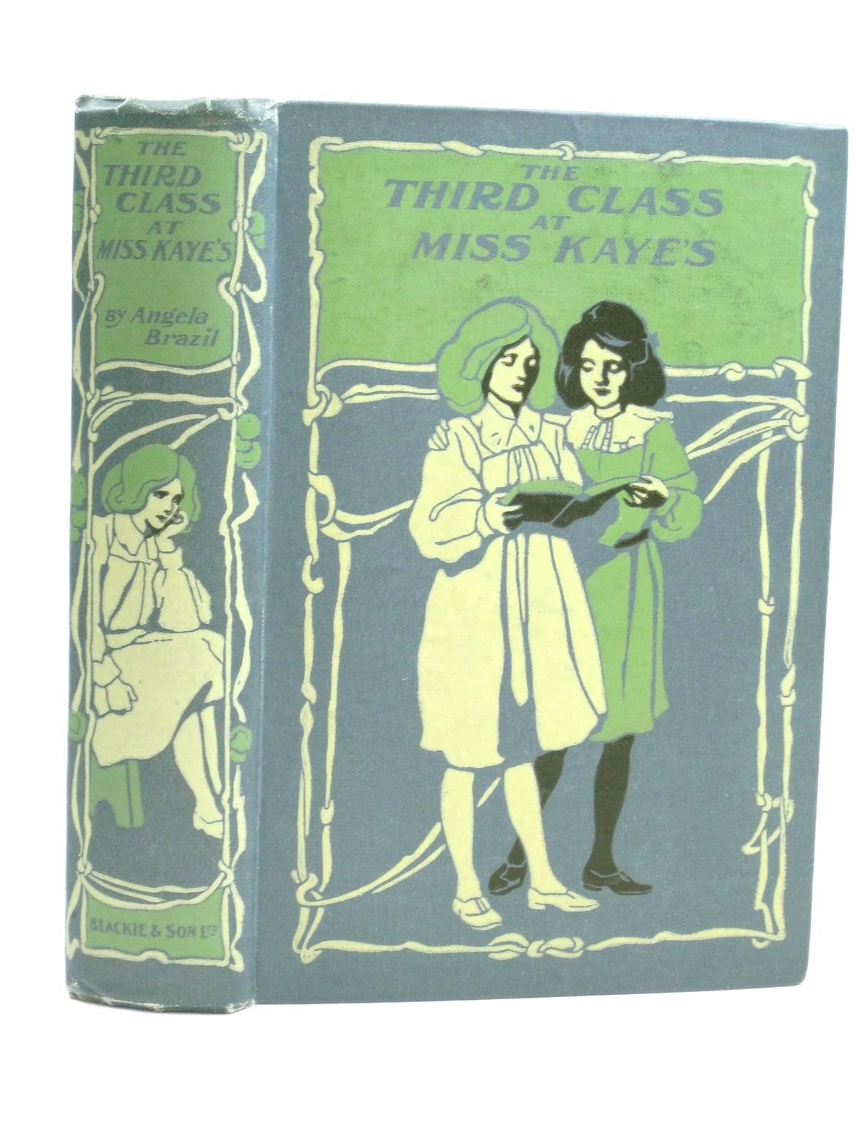 Photo of THE THIRD CLASS AT MISS KAYE'S written by Brazil, Angela illustrated by Dixon, A.A. published by Blackie & Son Ltd. (STOCK CODE: 1405509)  for sale by Stella & Rose's Books