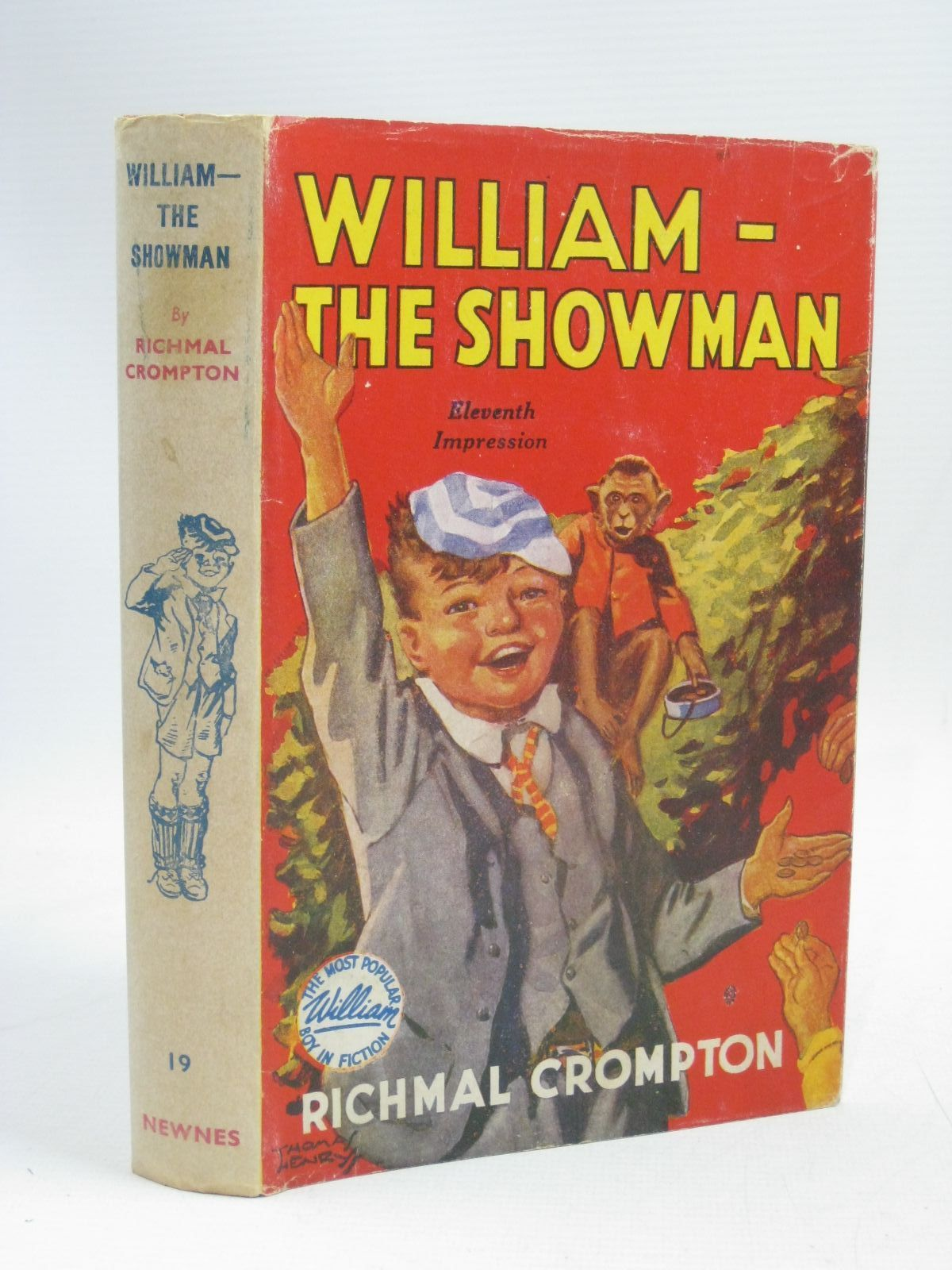 Photo of WILLIAM THE SHOWMAN written by Crompton, Richmal illustrated by Henry, Thomas published by George Newnes Limited (STOCK CODE: 1405565)  for sale by Stella & Rose's Books