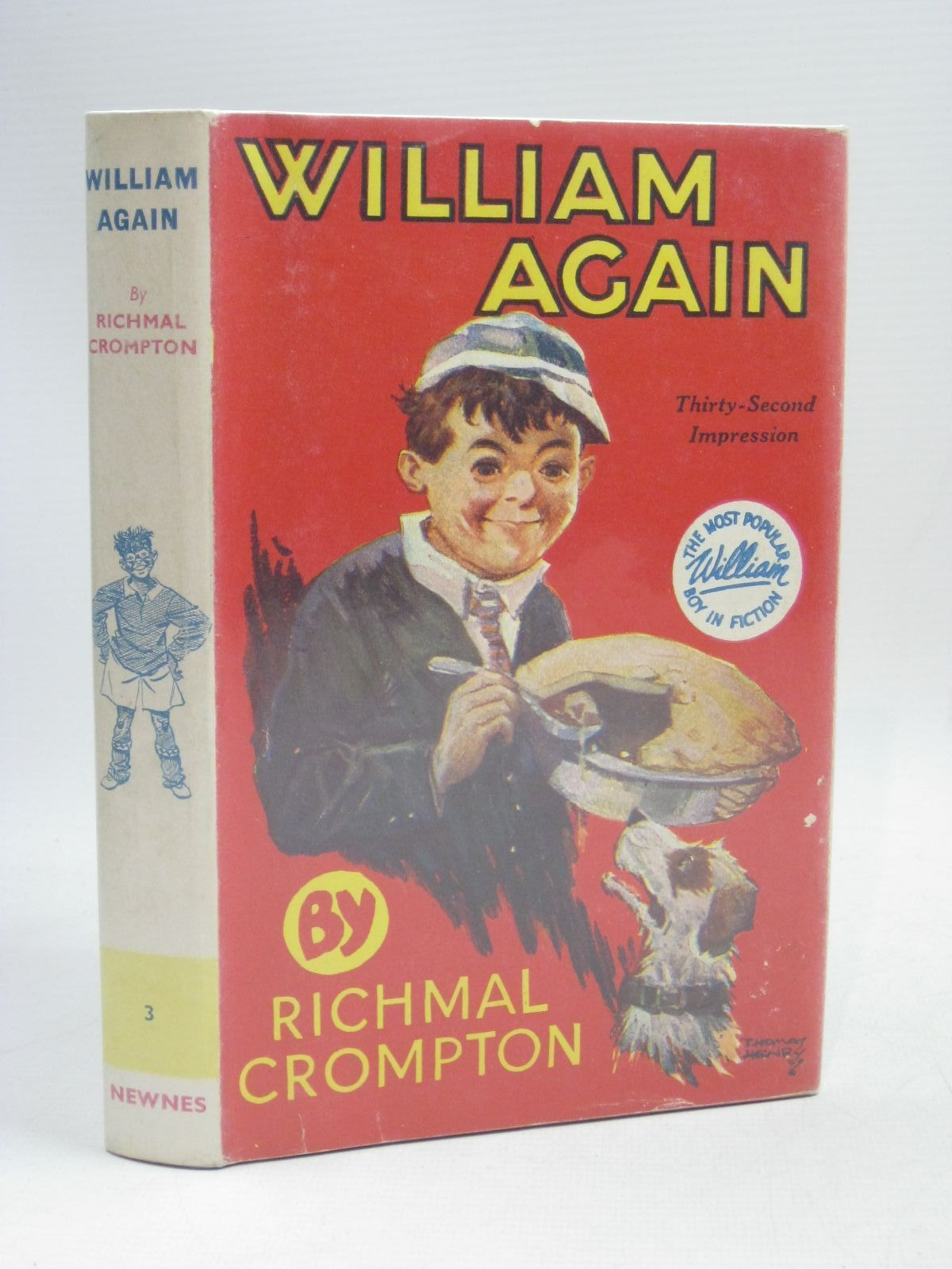 Photo of WILLIAM AGAIN written by Crompton, Richmal illustrated by Henry, Thomas published by George Newnes Limited (STOCK CODE: 1405577)  for sale by Stella & Rose's Books