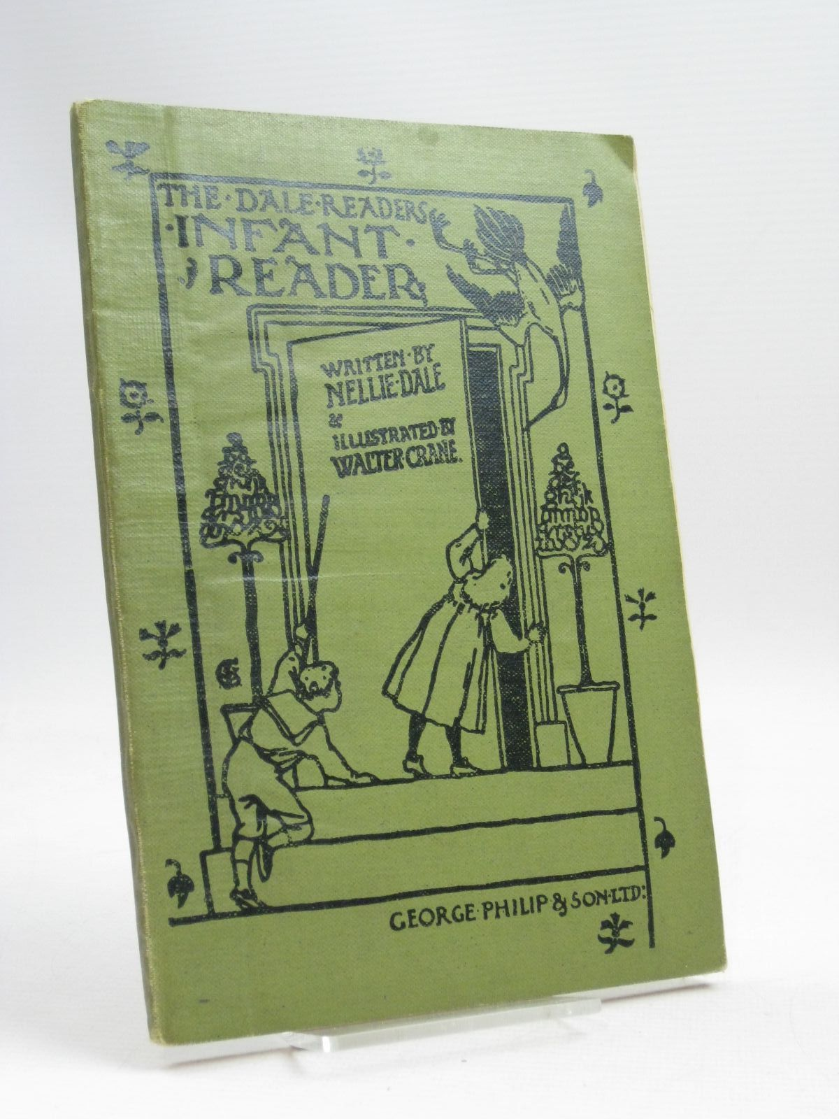 Photo of THE DALE READERS INFANT READER written by Dale, Nellie illustrated by Crane, Walter published by George Philip & Son Ltd. (STOCK CODE: 1405587)  for sale by Stella & Rose's Books