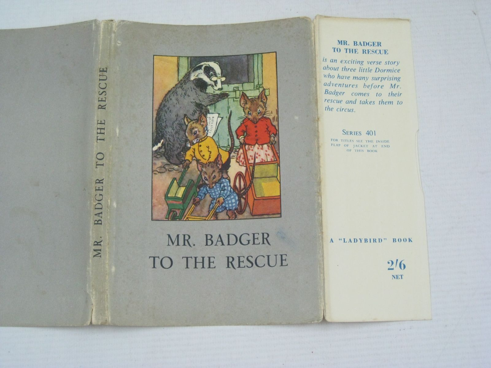 Photo of MR. BADGER TO THE RESCUE written by Macgregor, A.J.<br />Perring, W. illustrated by Macgregor, A.J. published by Wills & Hepworth Ltd. (STOCK CODE: 1405594)  for sale by Stella & Rose's Books