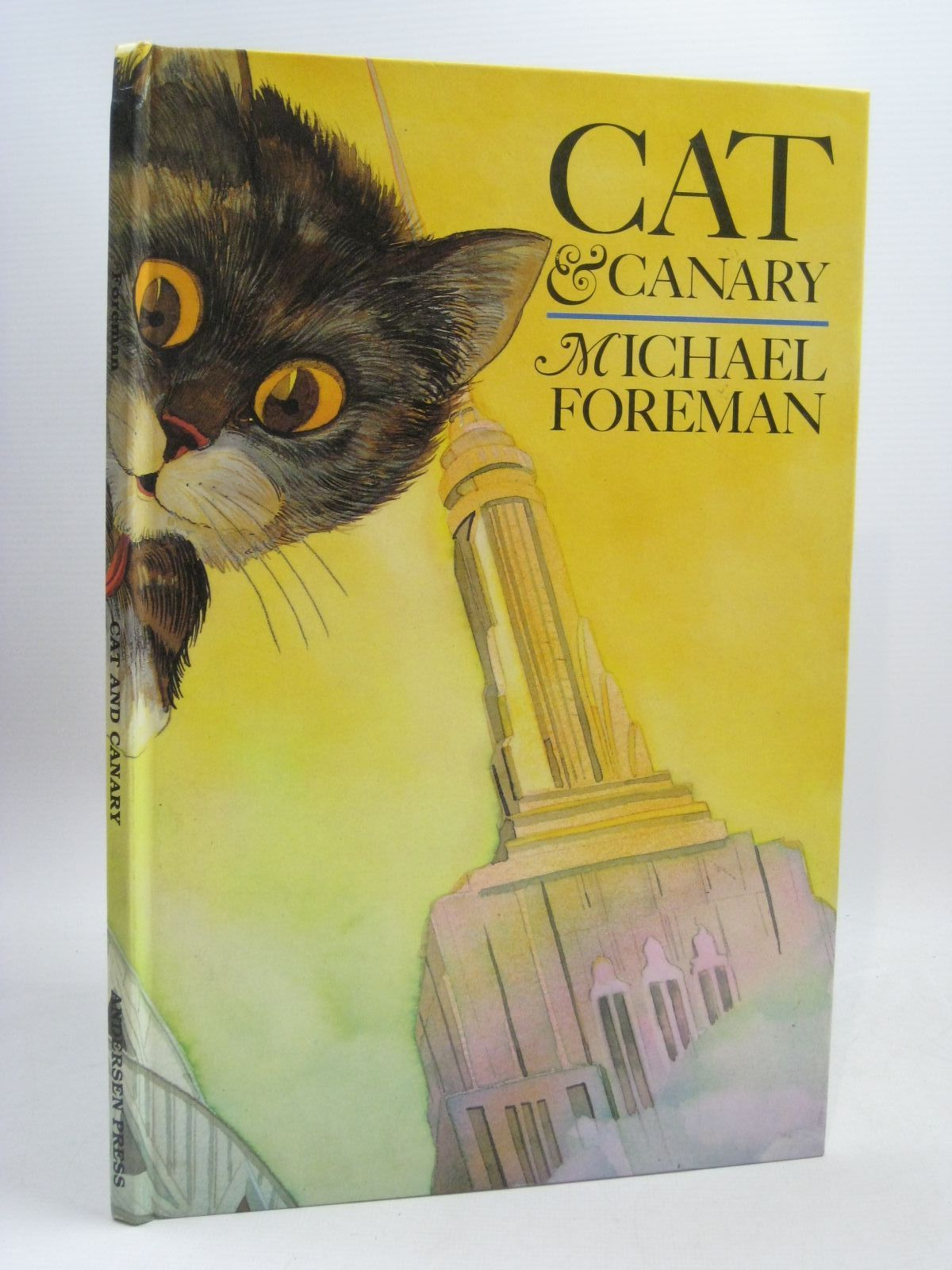Photo of CAT & CANARY written by Foreman, Michael illustrated by Foreman, Michael published by Andersen Press (STOCK CODE: 1405642)  for sale by Stella & Rose's Books