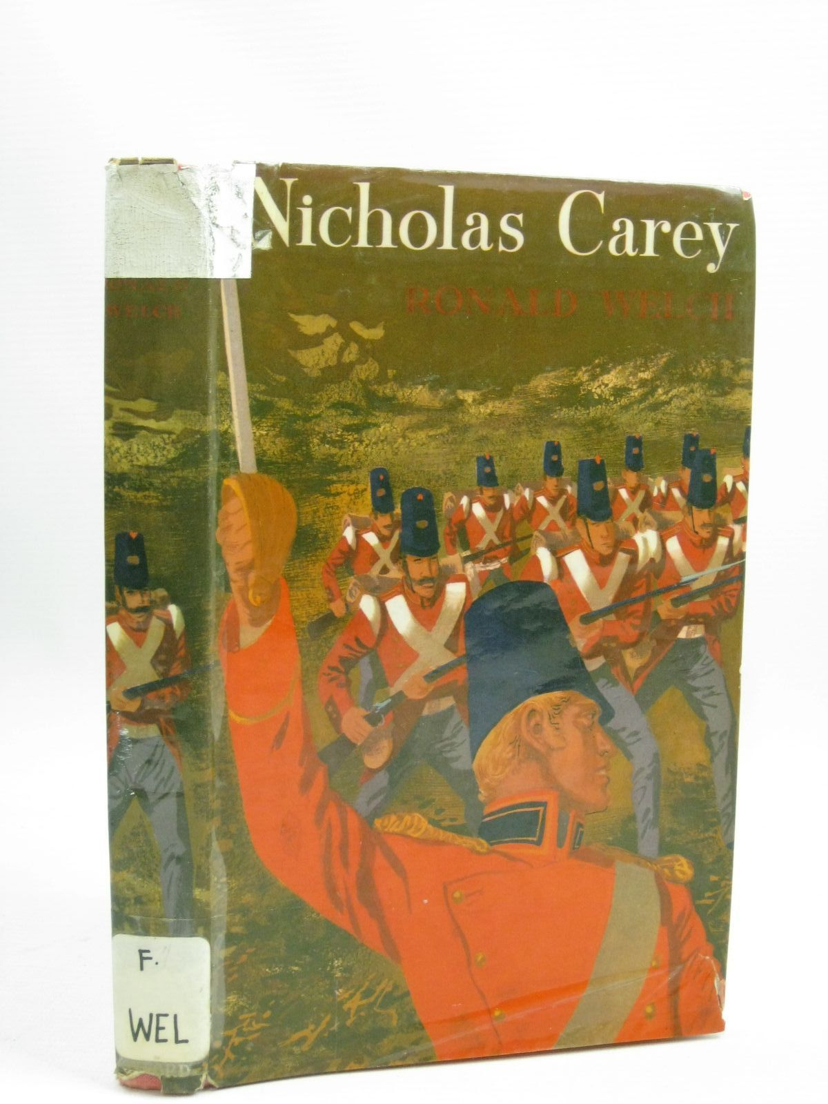 Photo of NICHOLAS CAREY written by Welch, Ronald illustrated by Stobbs, William published by Oxford University Press (STOCK CODE: 1405652)  for sale by Stella & Rose's Books