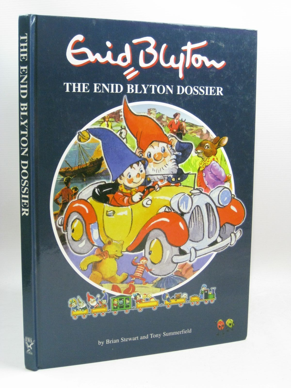 Photo of THE ENID BLYTON DOSSIER written by Stewart, Brian<br />Summerfield, Tony published by Hawk Books Ltd. (STOCK CODE: 1405671)  for sale by Stella & Rose's Books