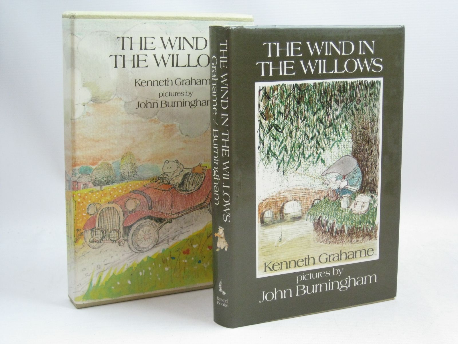 Photo of THE WIND IN THE WILLOWS written by Grahame, Kenneth illustrated by Burningham, John published by Kestrel Books (STOCK CODE: 1405677)  for sale by Stella & Rose's Books