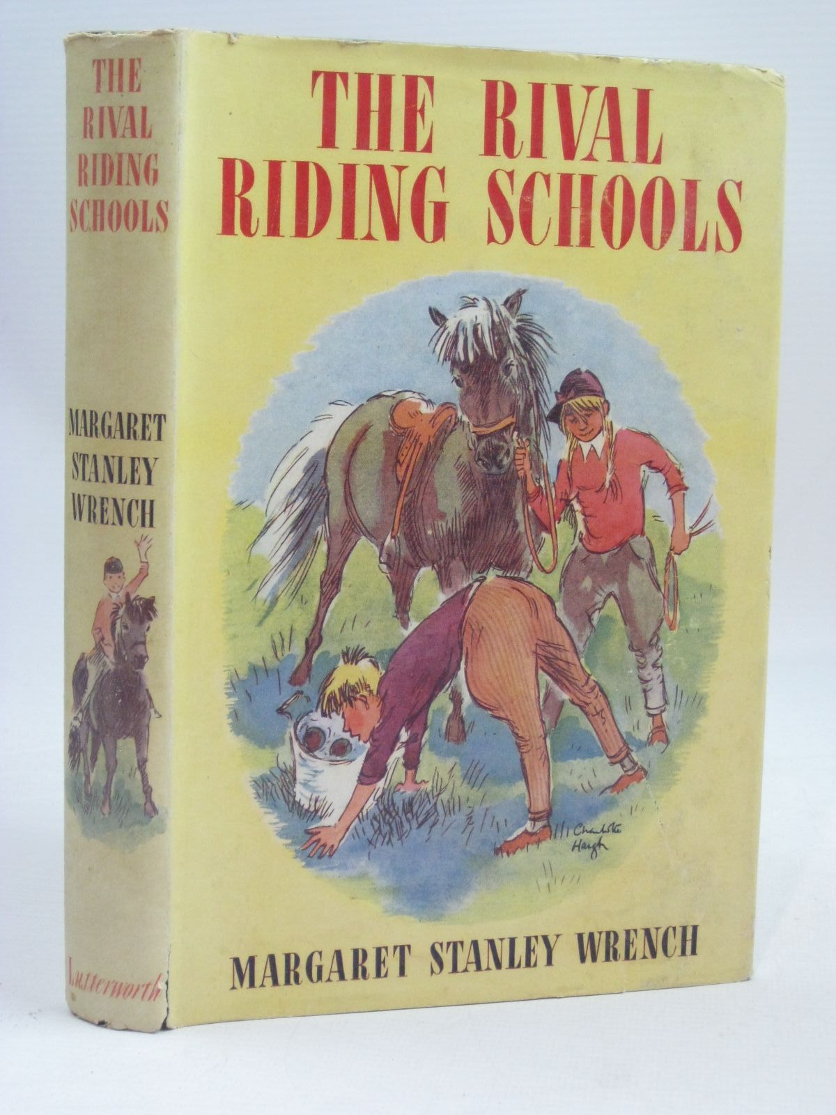 Photo of THE RIVAL RIDING SCHOOLS written by Wrench, Margaret Stanley illustrated by Furnival, F. published by Lutterworth Press (STOCK CODE: 1405708)  for sale by Stella & Rose's Books
