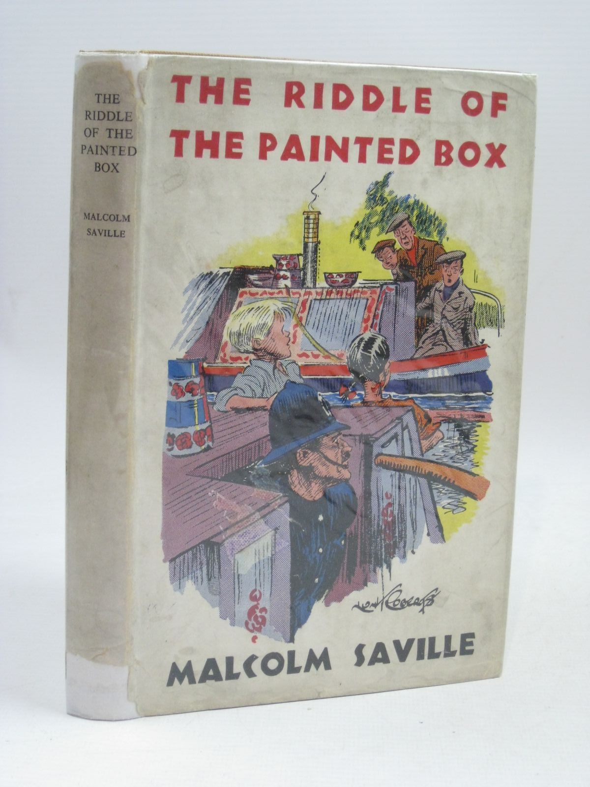 Photo of THE RIDDLE OF THE PAINTED BOX written by Saville, Malcolm illustrated by Roberts, Lunt published by Noel Carrington (STOCK CODE: 1405797)  for sale by Stella & Rose's Books