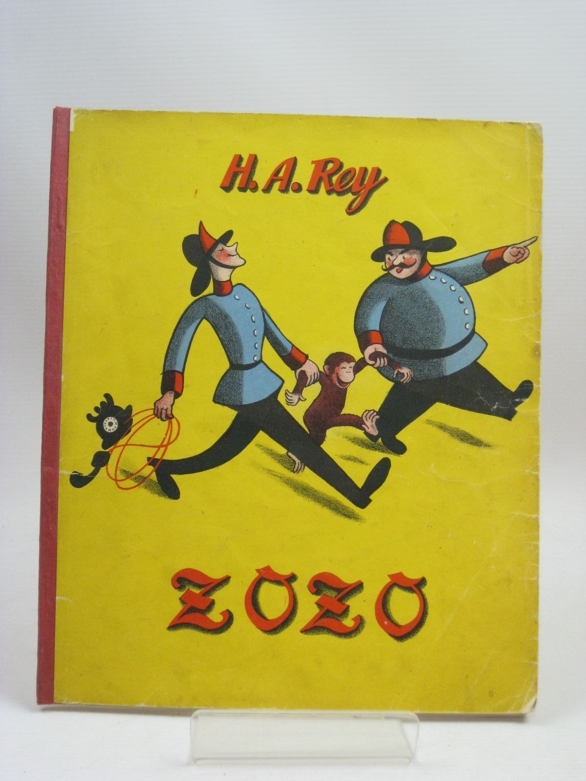 Photo of ZOZO written by Rey, H.A. illustrated by Rey, H.A. published by Chatto & Windus (STOCK CODE: 1405802)  for sale by Stella & Rose's Books