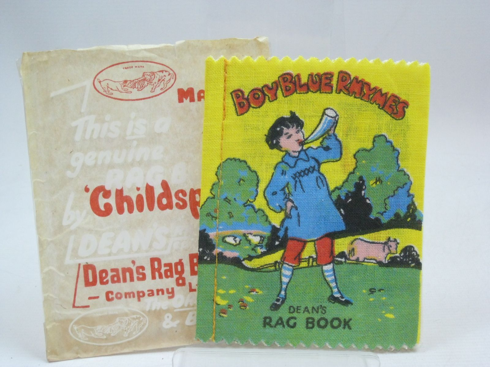 Photo of BOY BLUE RHYMES published by Dean's Rag Book Co. Ltd. (STOCK CODE: 1405805)  for sale by Stella & Rose's Books