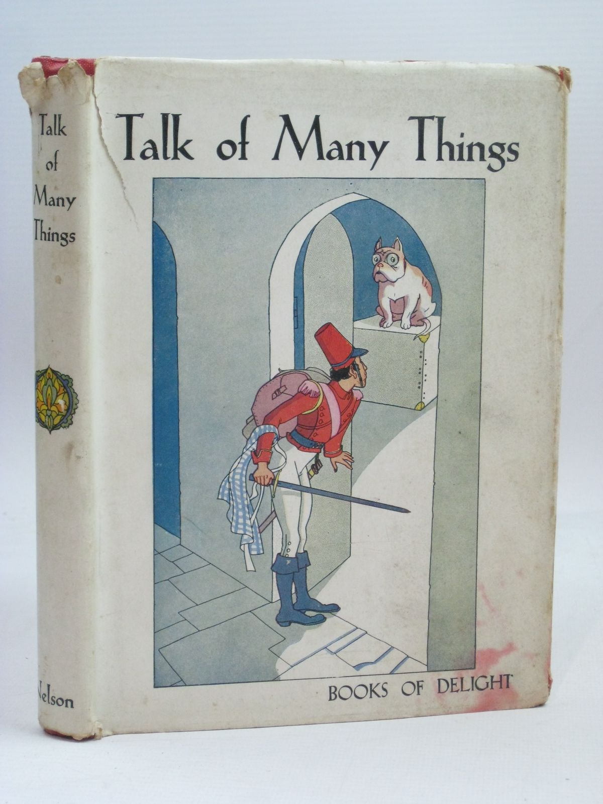 Photo of TALK OF MANY THINGS written by Wilson, Richard<br />De La Mare, Walter<br />Farjeon, Eleanor<br />Blyton, Enid<br />et al,  illustrated by Denton, Phyllis<br />et al.,  published by Thomas Nelson and Sons Ltd. (STOCK CODE: 1405887)  for sale by Stella & Rose's Books