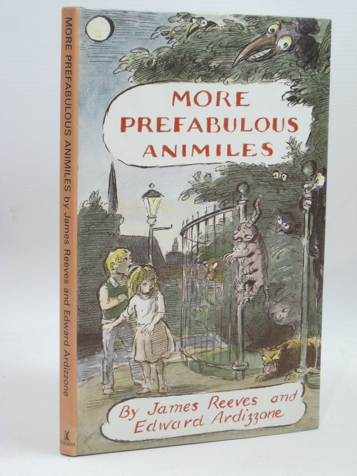 Photo of MORE PREFABULOUS ANIMILES written by Reeves, James illustrated by Ardizzone, Edward published by Heinemann (STOCK CODE: 1405924)  for sale by Stella & Rose's Books