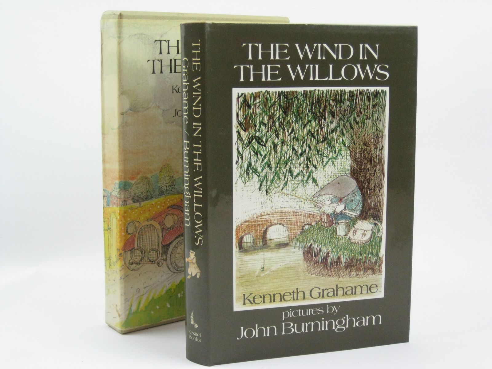 Photo of THE WIND IN THE WILLOWS written by Grahame, Kenneth illustrated by Burningham, John published by Kestrel Books (STOCK CODE: 1406051)  for sale by Stella & Rose's Books