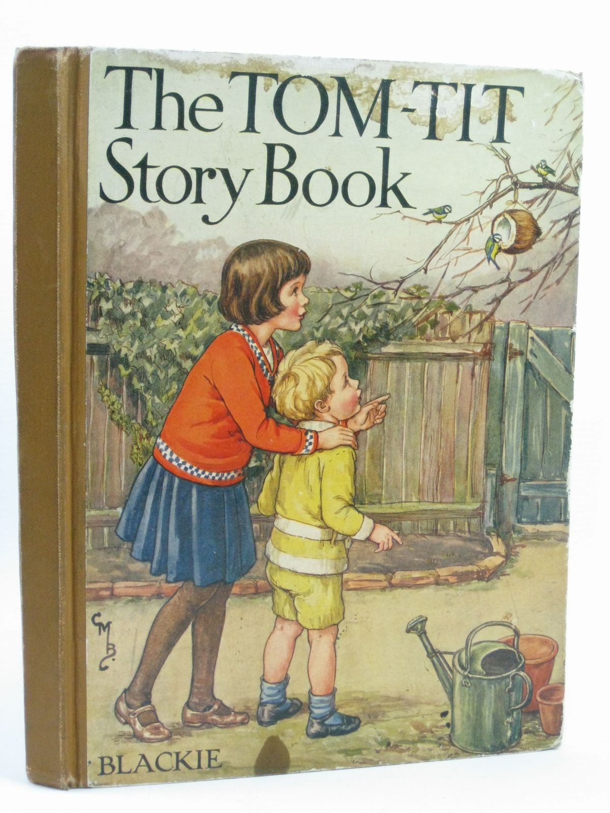 Photo of THE TOM-TIT STORY BOOK written by Pope, Jessie<br />Blomfield, Elsie<br />Tyrrell, Mabel L.<br />et al, illustrated by Petherick, Rosa C.<br />Brisley, Nina K.<br />Robinson, Gordon<br />et al., published by Blackie And Son Limited (STOCK CODE: 1406053)  for sale by Stella & Rose's Books