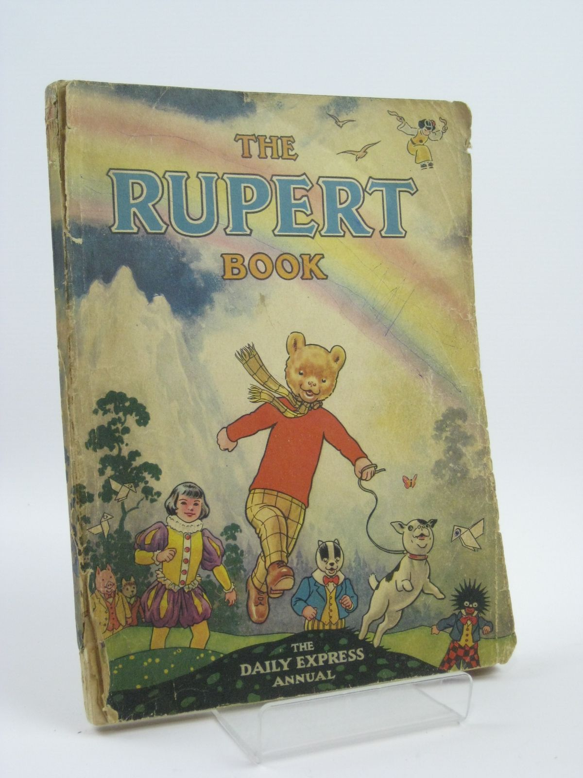Photo of RUPERT ANNUAL 1948 - THE RUPERT BOOK written by Bestall, Alfred illustrated by Bestall, Alfred published by Daily Express (STOCK CODE: 1406106)  for sale by Stella & Rose's Books