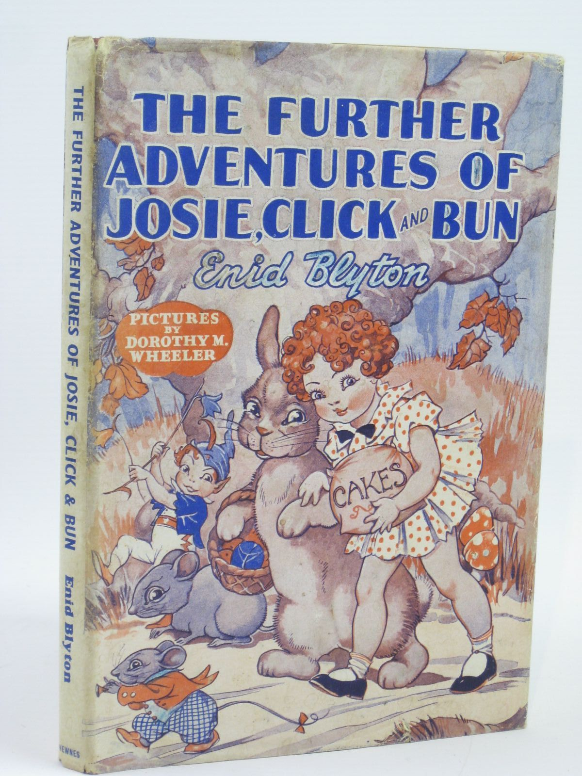 Photo of THE FURTHER ADVENTURES OF JOSIE, CLICK AND BUN written by Blyton, Enid illustrated by Wheeler, Dorothy M. published by George Newnes Limited (STOCK CODE: 1406151)  for sale by Stella & Rose's Books