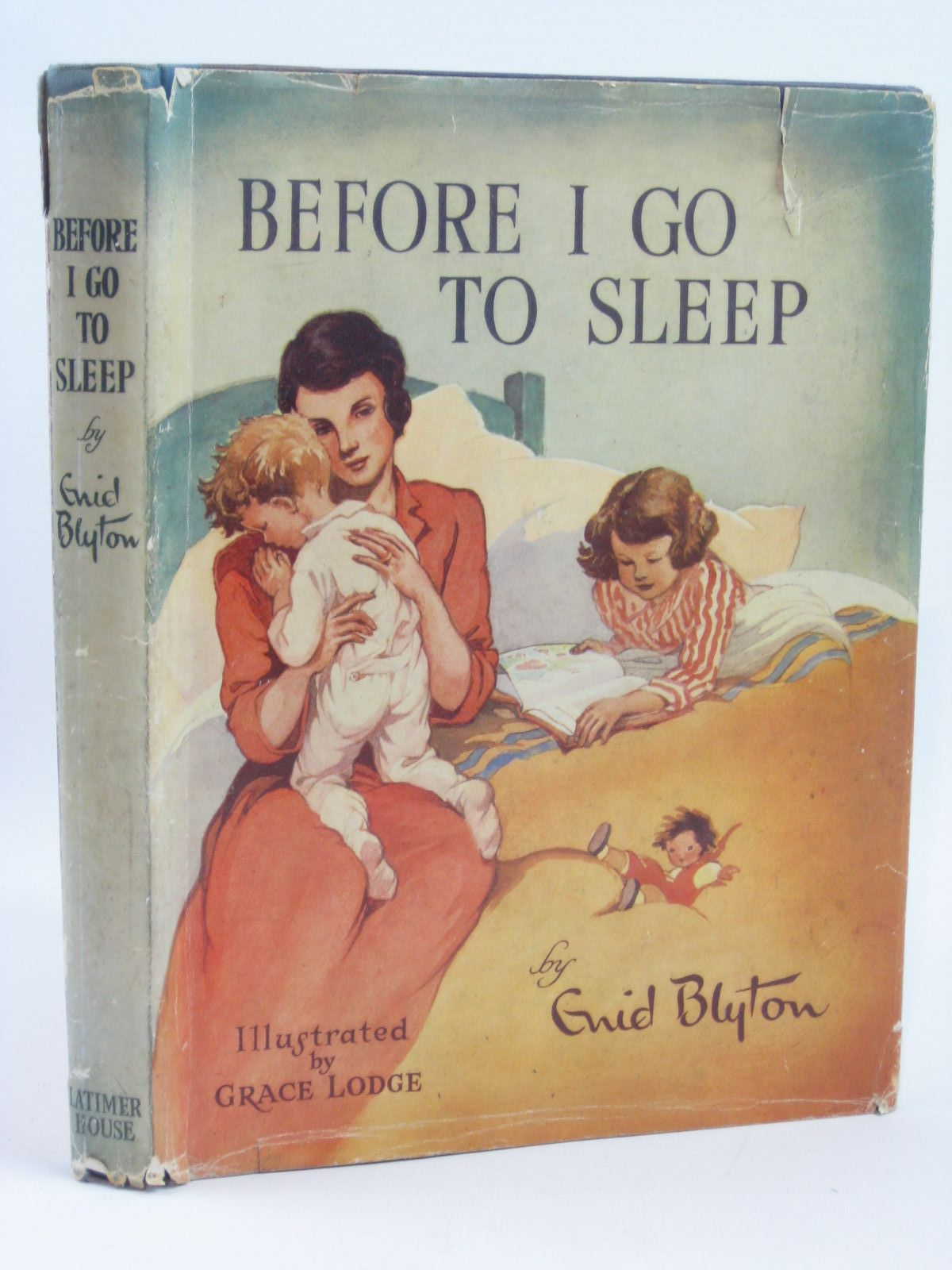 Photo of BEFORE I GO TO SLEEP written by Blyton, Enid illustrated by Lodge, Grace published by Latimer House Limited (STOCK CODE: 1406152)  for sale by Stella & Rose's Books