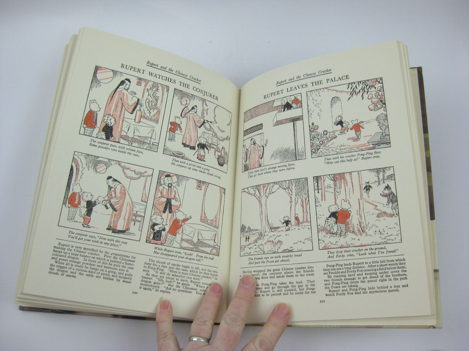 Photo of RUPERT ANNUAL 1937 (FACSIMILE) - MORE ADVENTURES OF RUPERT written by Bestall, Alfred illustrated by Bestall, Alfred published by Express Newspapers Ltd. (STOCK CODE: 1406164)  for sale by Stella & Rose's Books